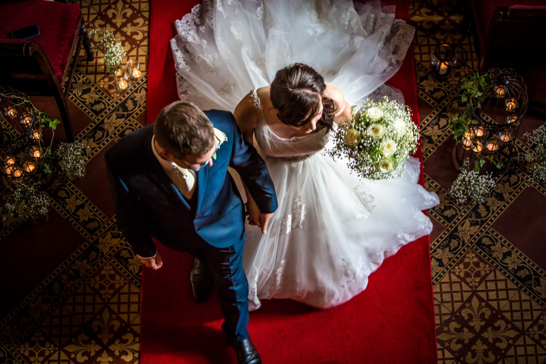 Wedding photographers Peckforton Castle