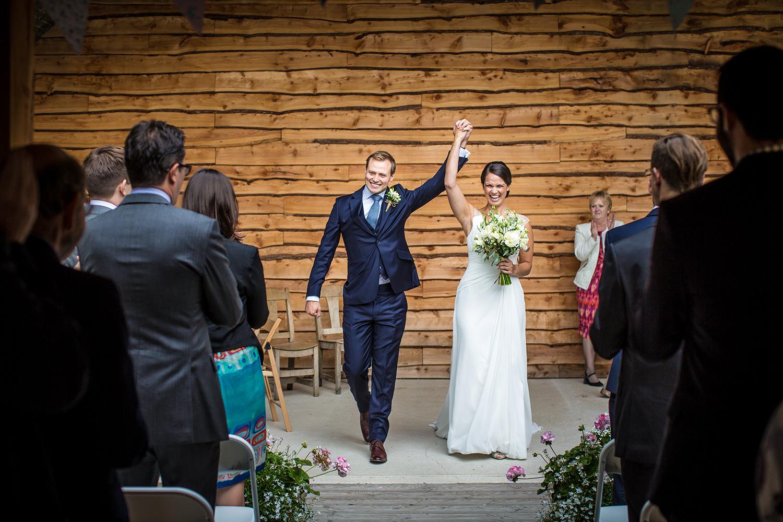 Wedding photography at Tower Hill Barns