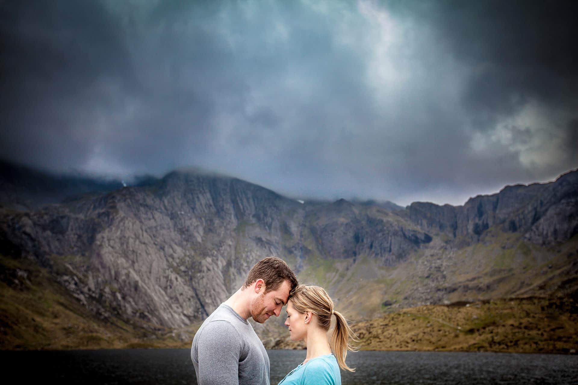 engagement shoot at snowden