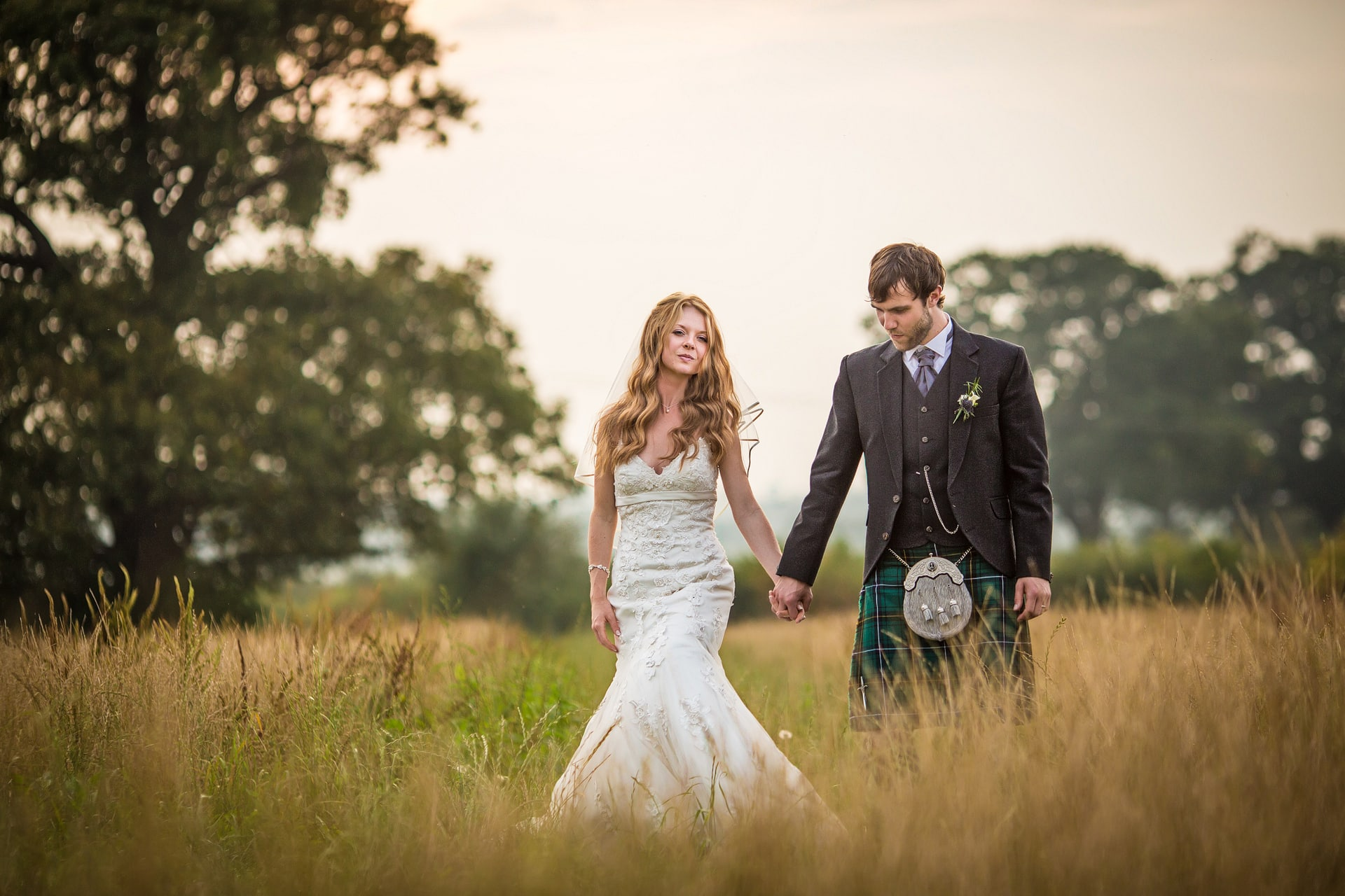 Wedding photographer in hundred house hotel field Chesire