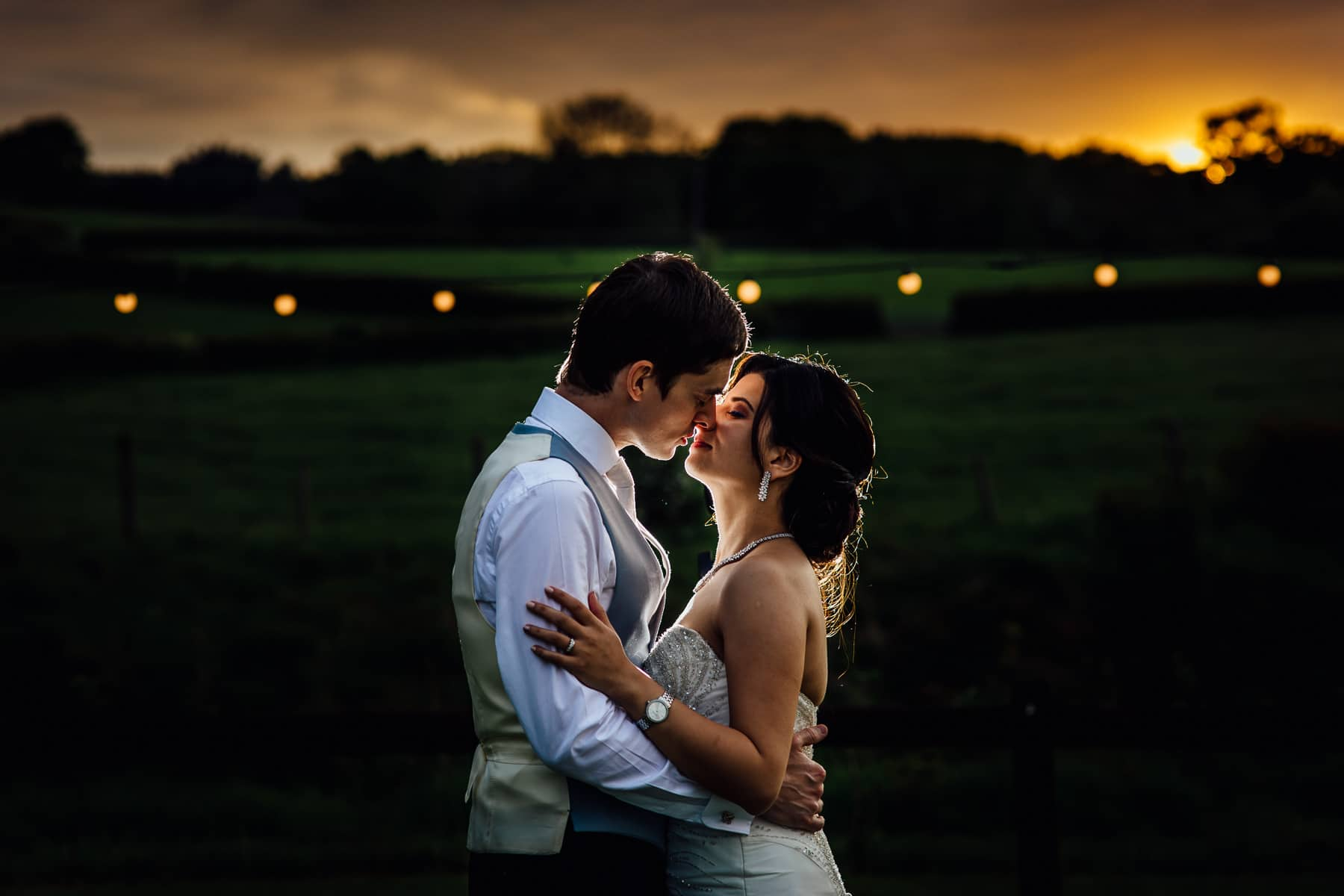 Wedding photograph Tower Hill Barns