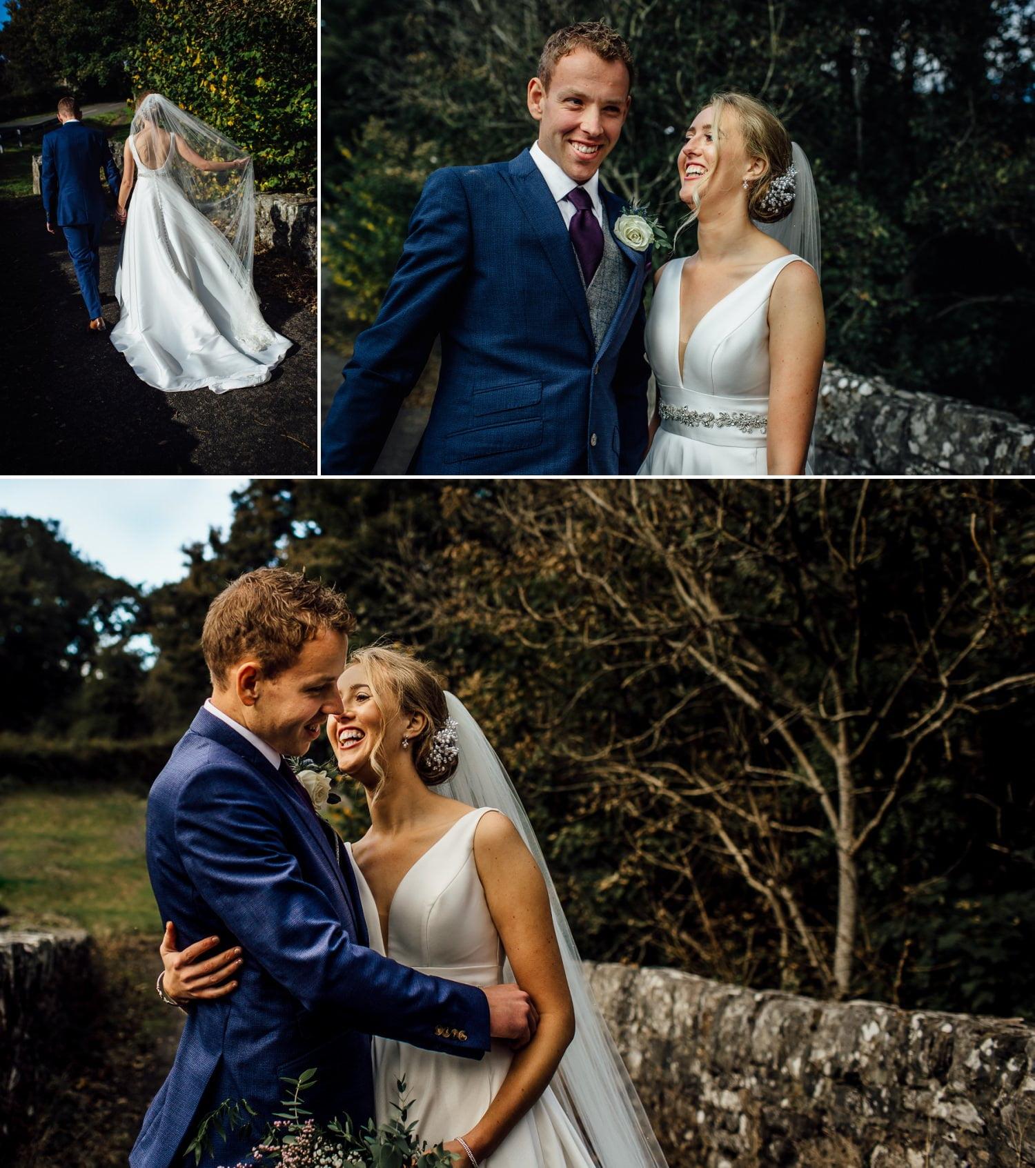 wedding photography portraits of couple