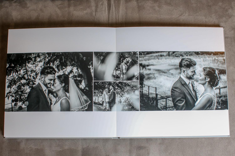 Picture of printed wedding album