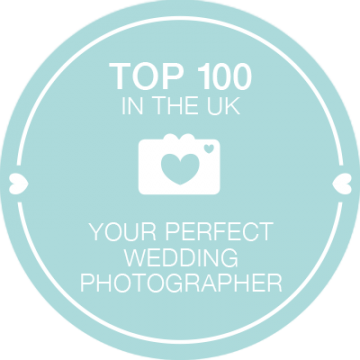 Wedding Photographer North Wales and Chester featured badge