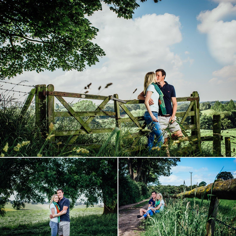 Farm in Cheshire pre wedding photographs