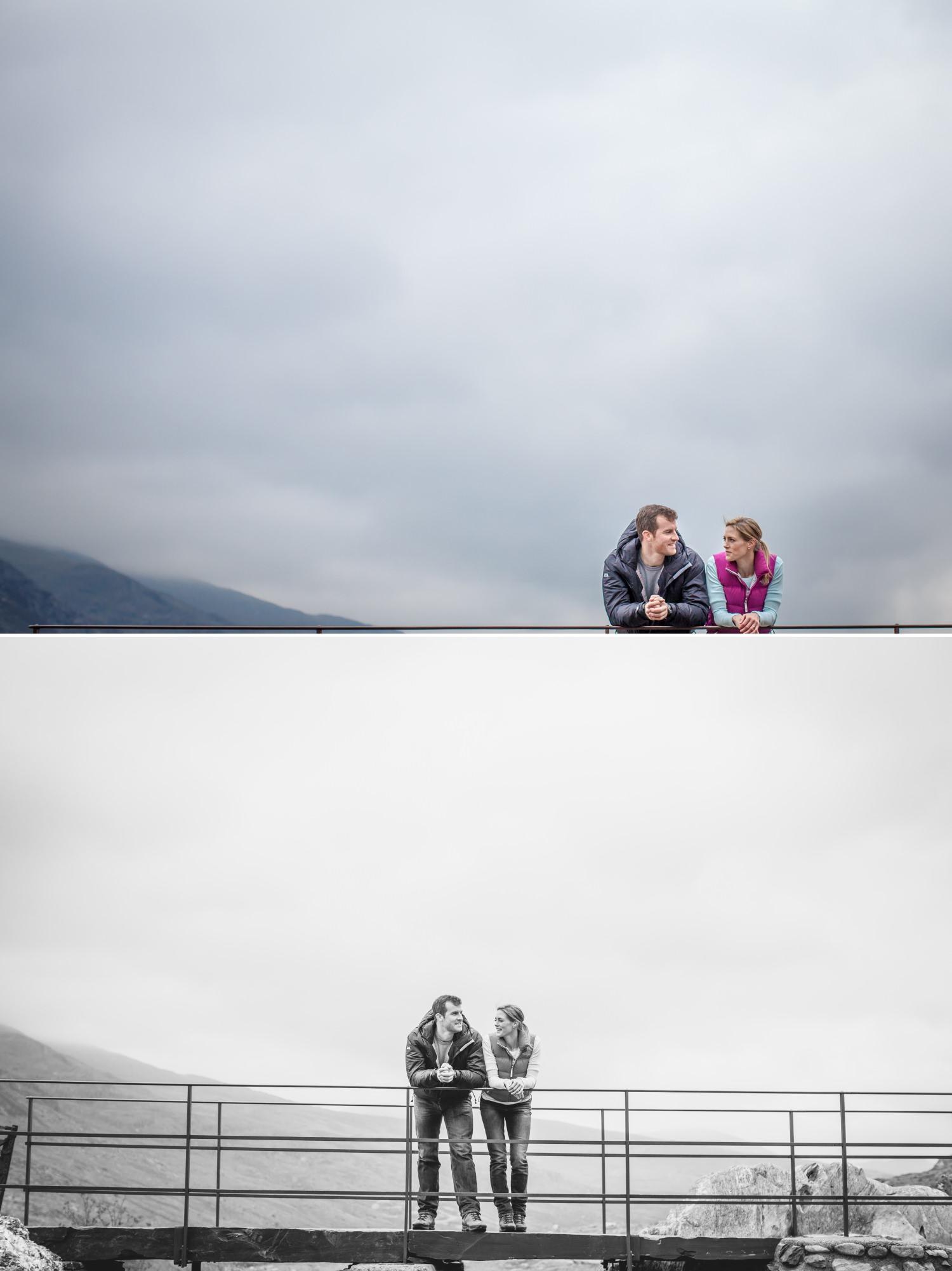 Llyn Idwal north wales wedding photographer