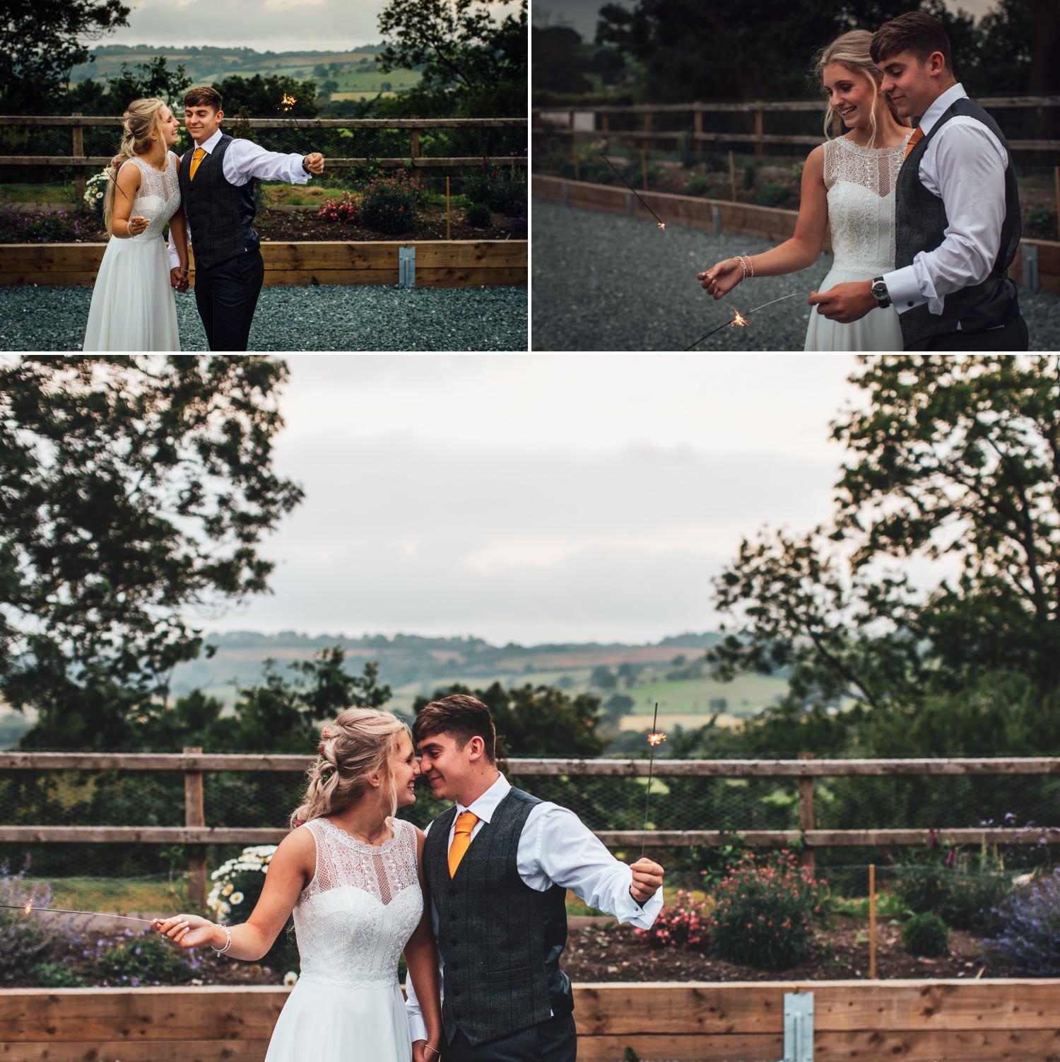 North Wales, Barn wedding photographer