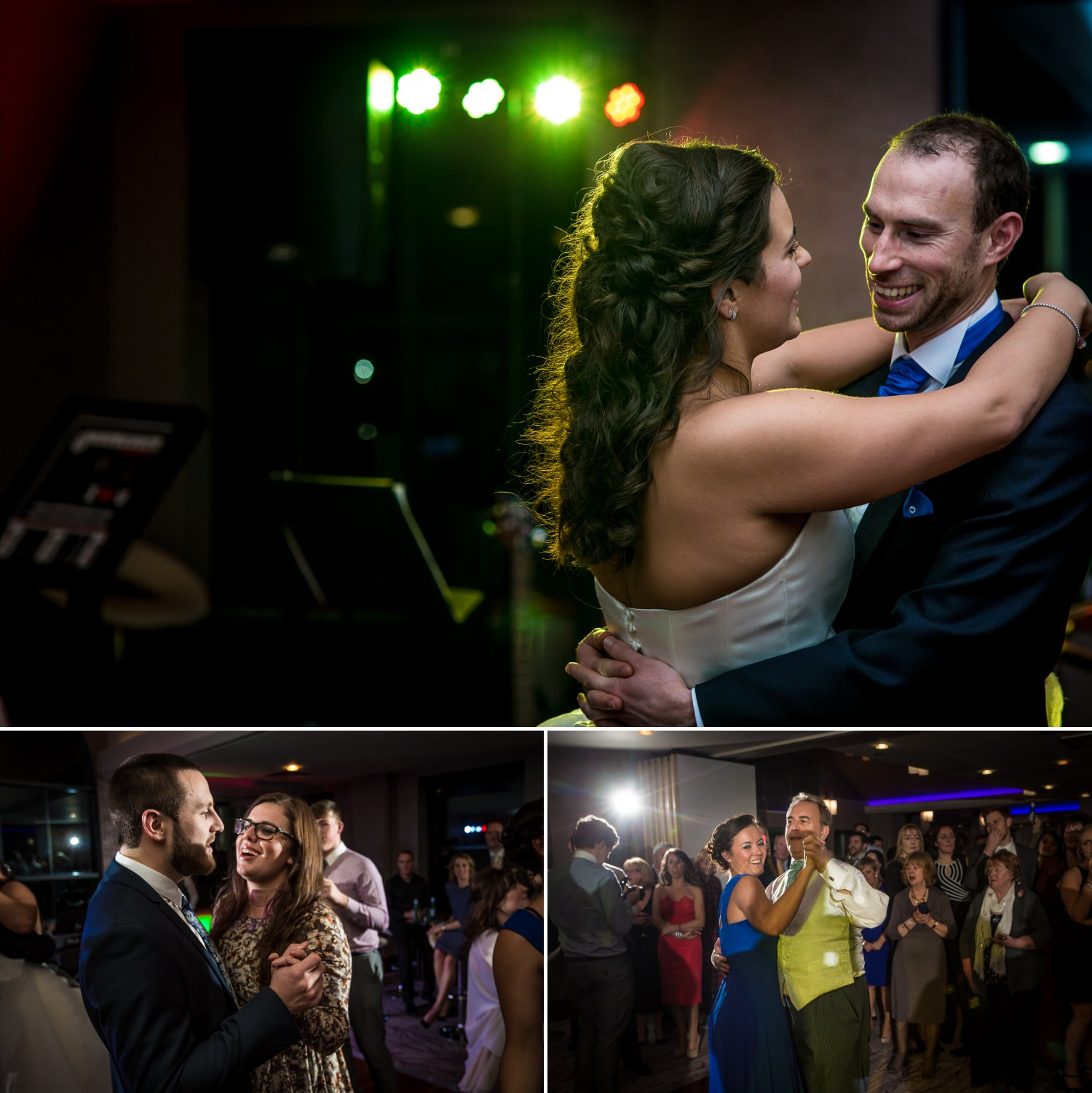 First wedding dance professional photographed in the Quay Hotel Deganwy, North Wales