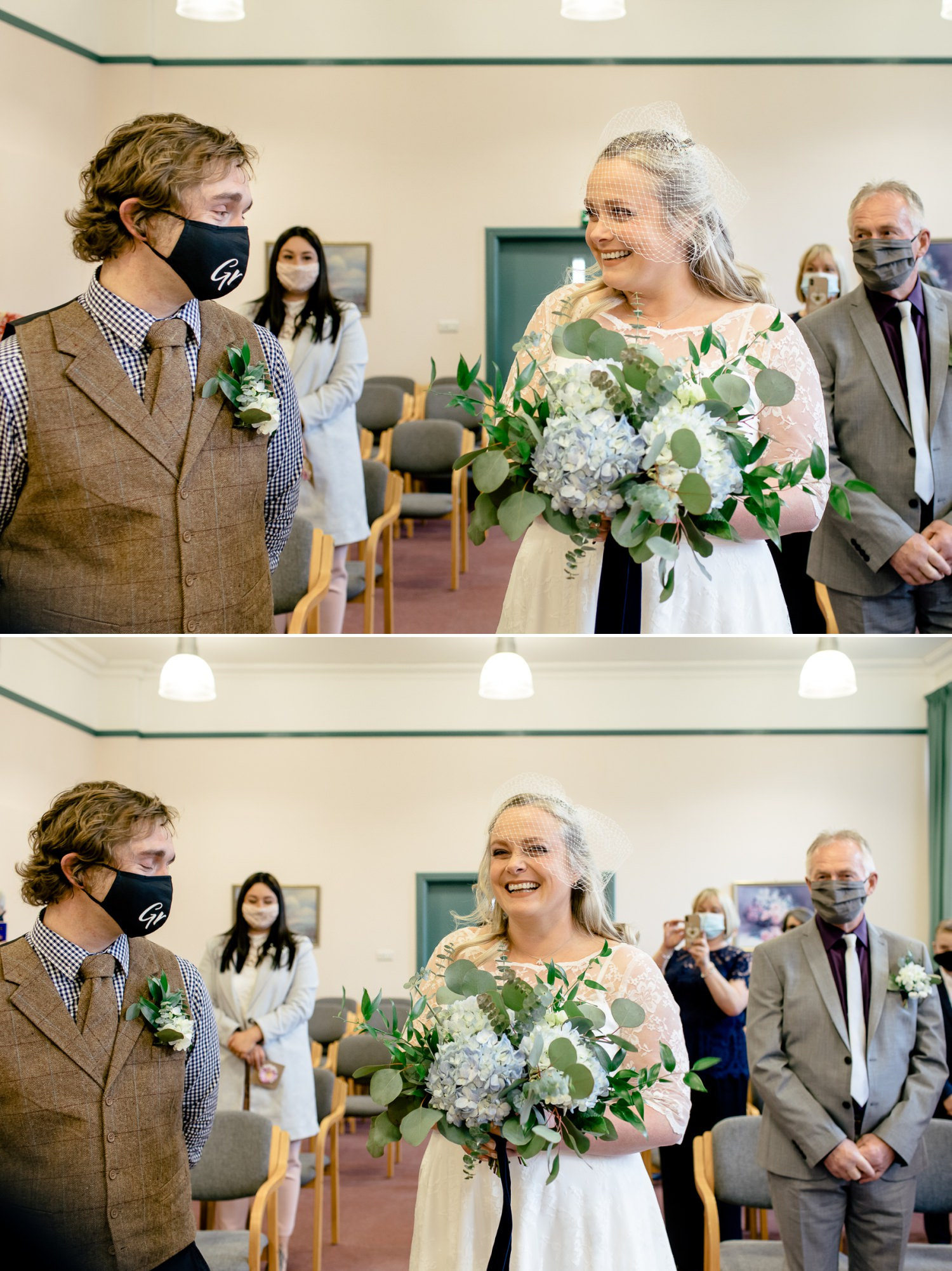 Affordable Wedding photographer Ruthin Town Hall