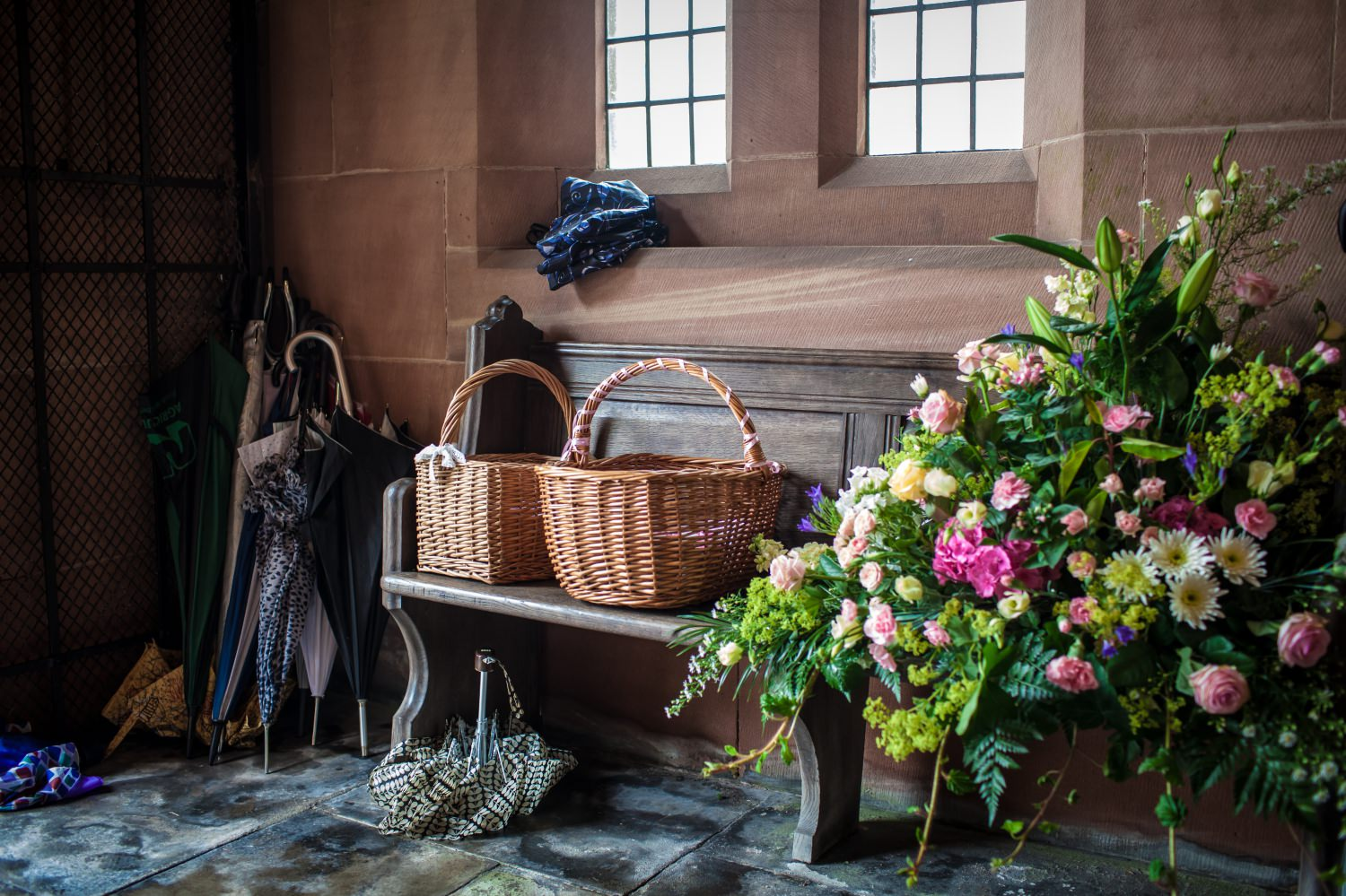 Wedding photography in Church Cheshire