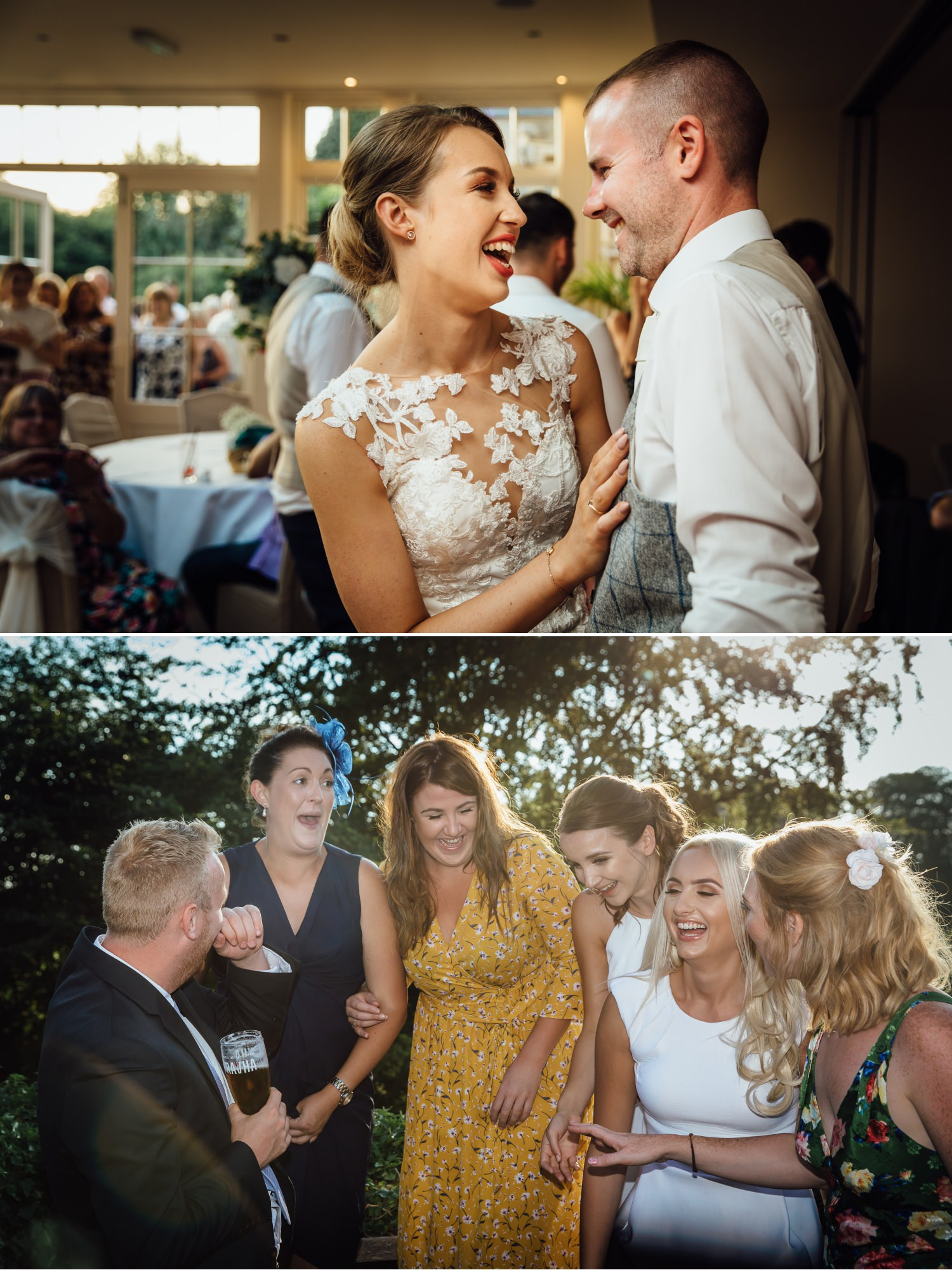 Wedding photographers Mitton Hall