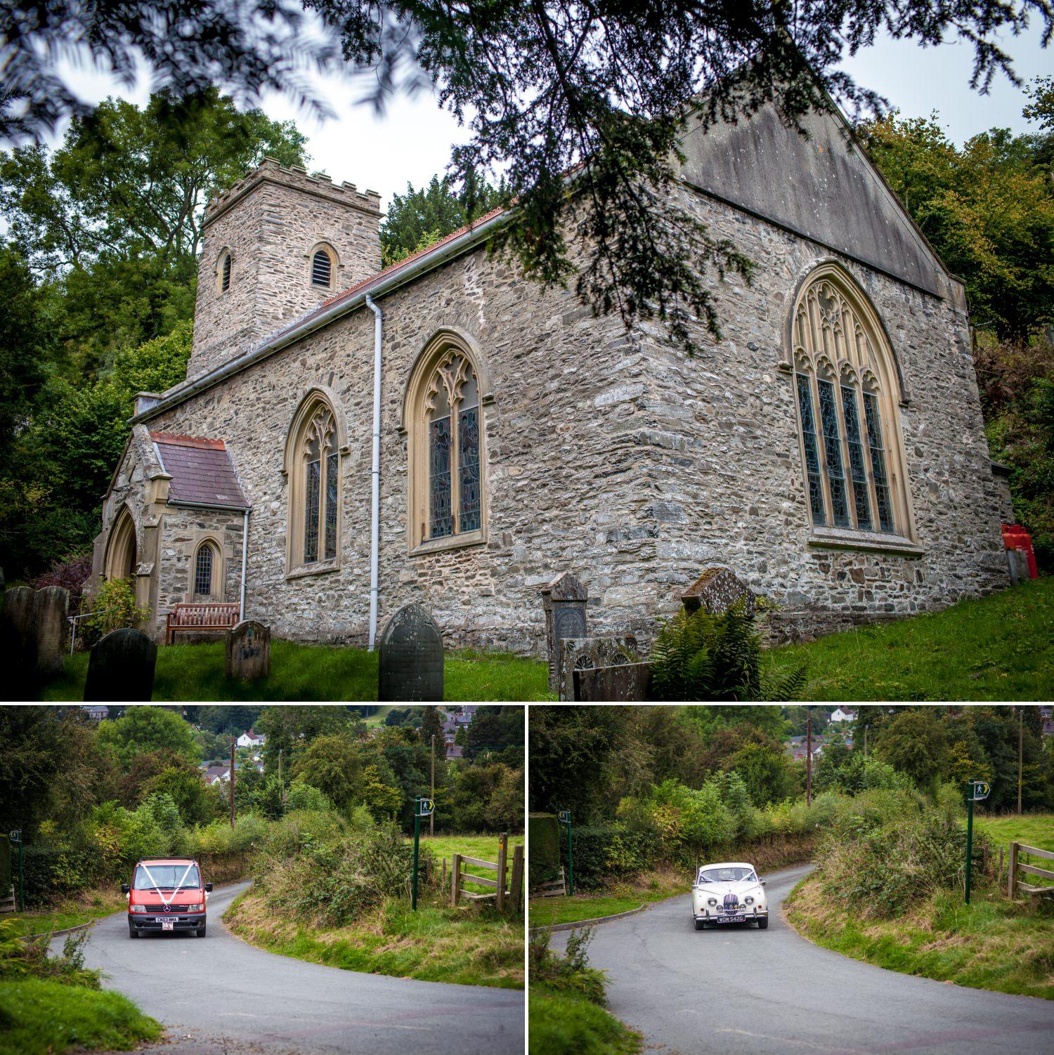 Glyn Ceiriog Church, Nant Y Garth, Church Hill, Glyn Ceiriog, Llangollen photograph