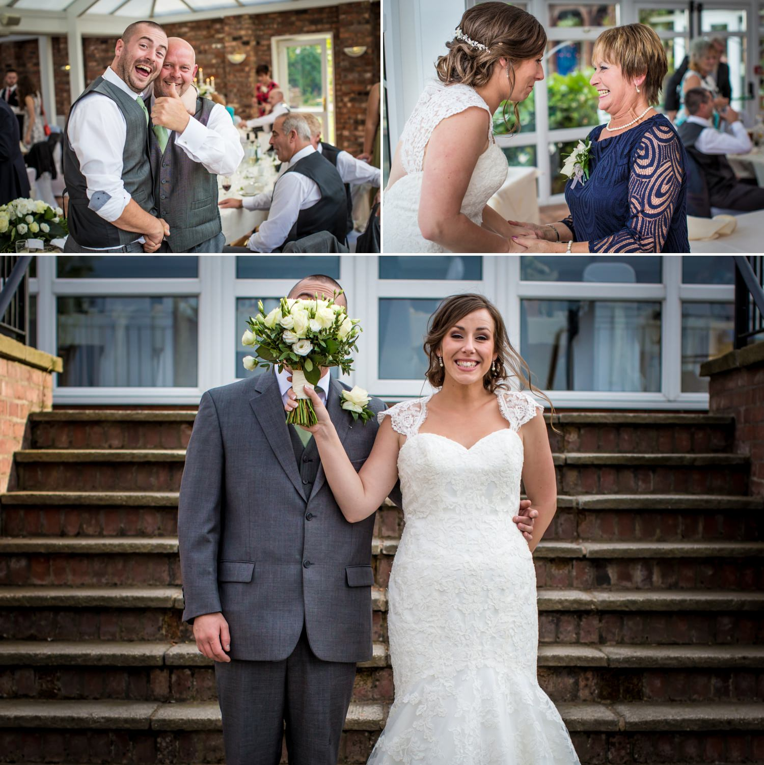 Guests and fun photographs at Lion Quays, Oswestry, Shropshire