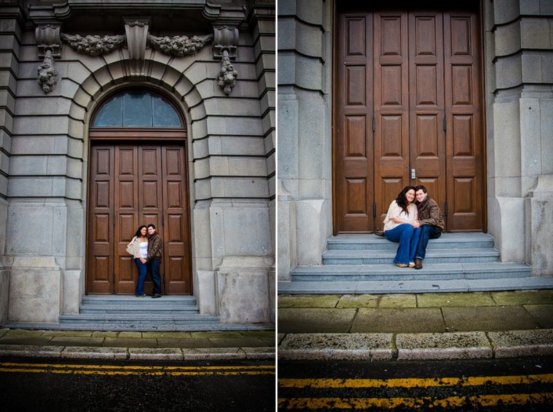 Liverpool pre wedding photography at Liver Building