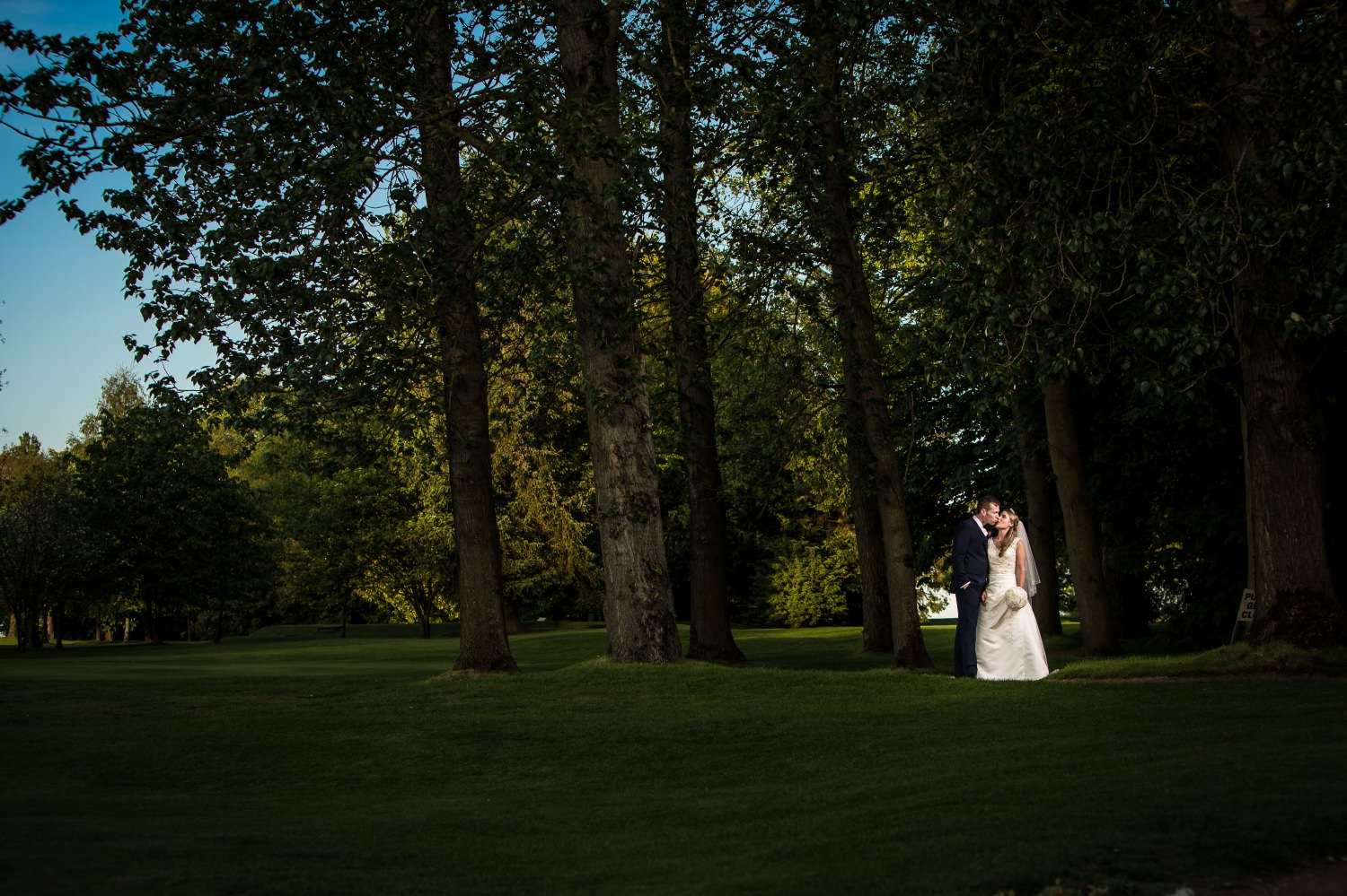 Photographs of a wedding couple at a wedding in Liverpool