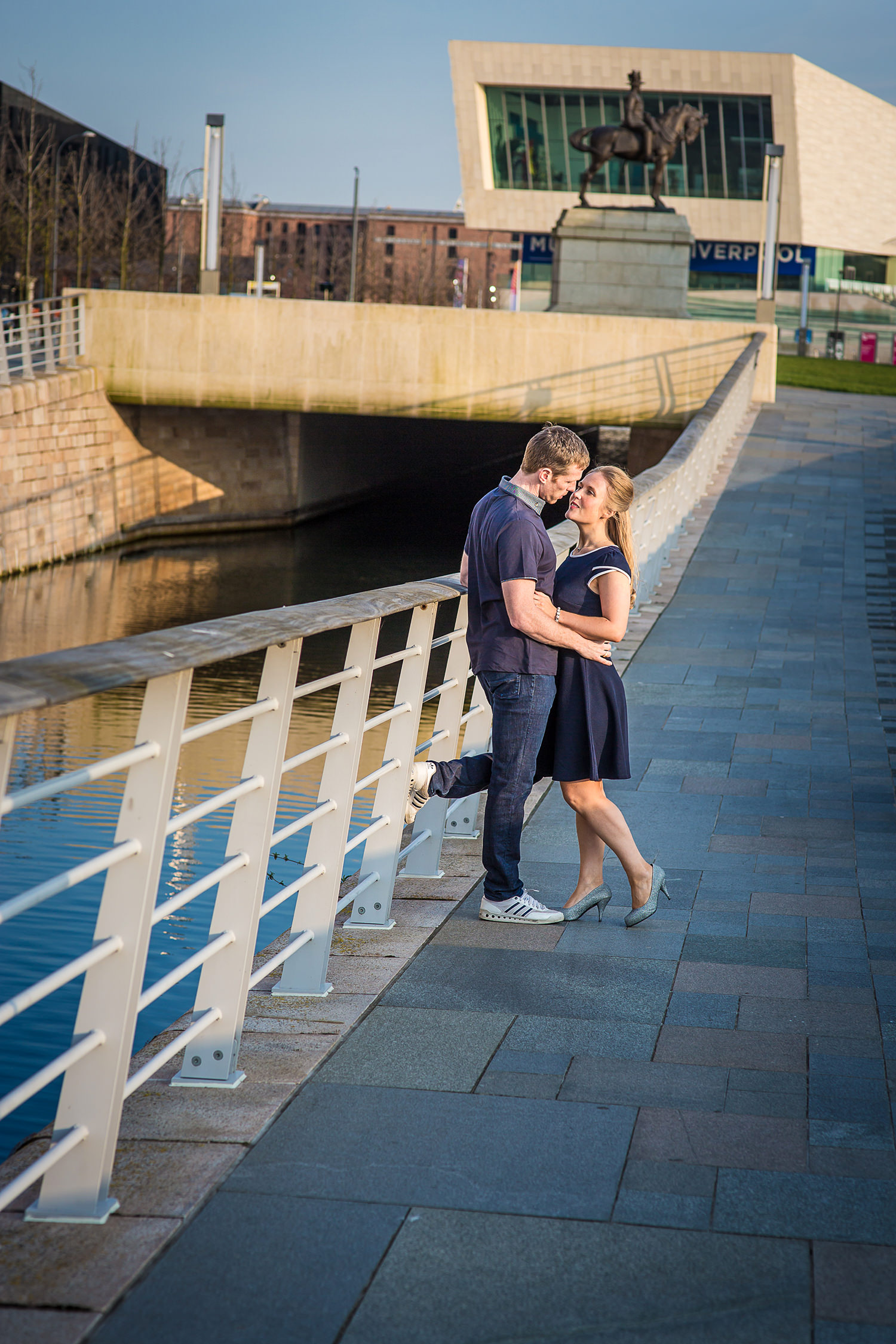 Pre-wedding photoshoot Liverpool