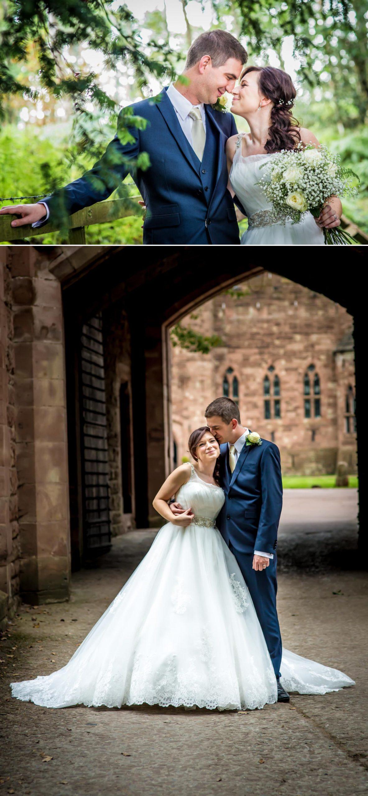 Wedding Photographs at Cheshire wedding venue Peckforton Castle