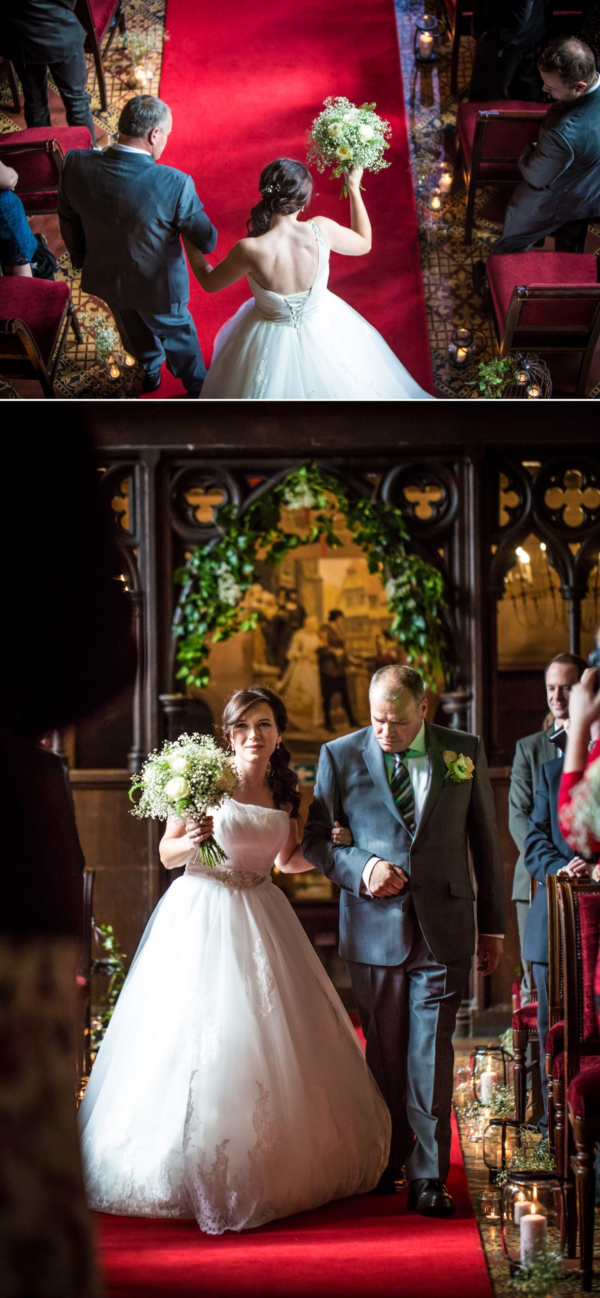 Wedding Photography ceremony at Peckforton Castle