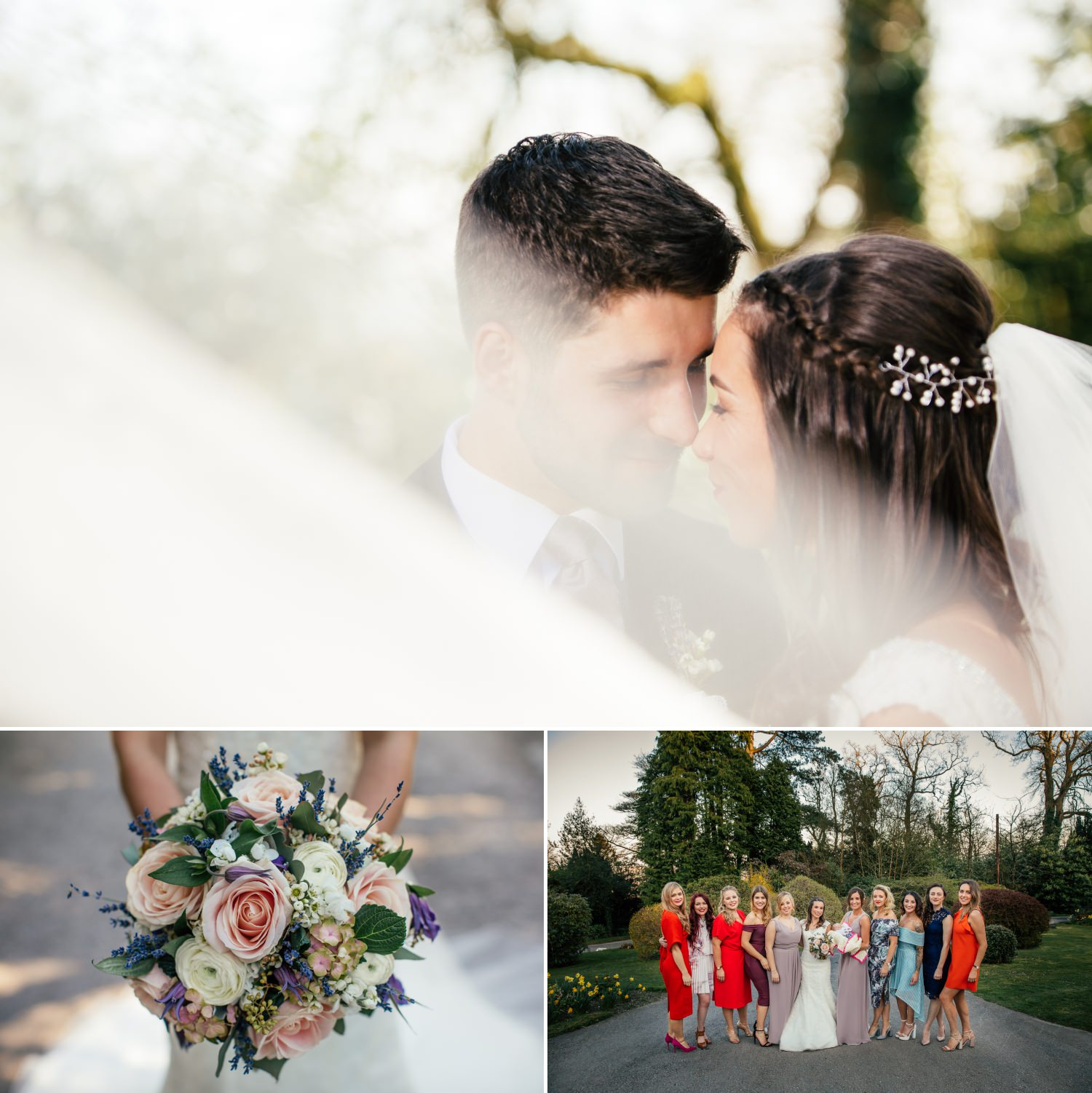 wedding portraits at Plas Hafod