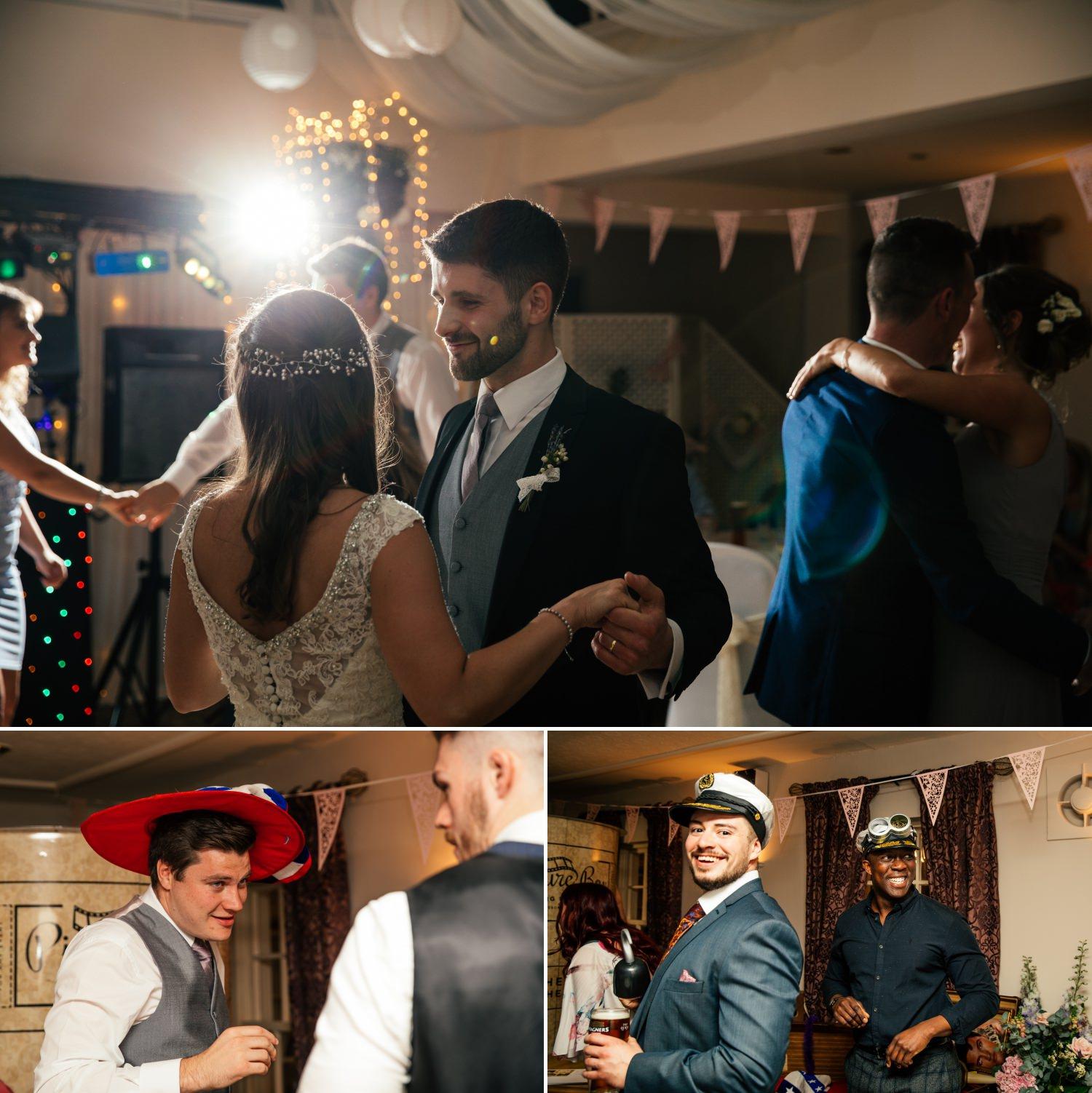 Plas Hafod Wedding Photograph of first dance