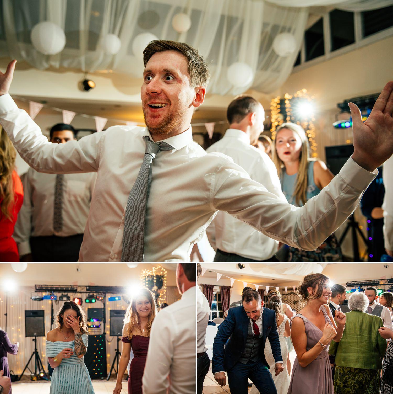 Dancing at Plas Hafod Wedding