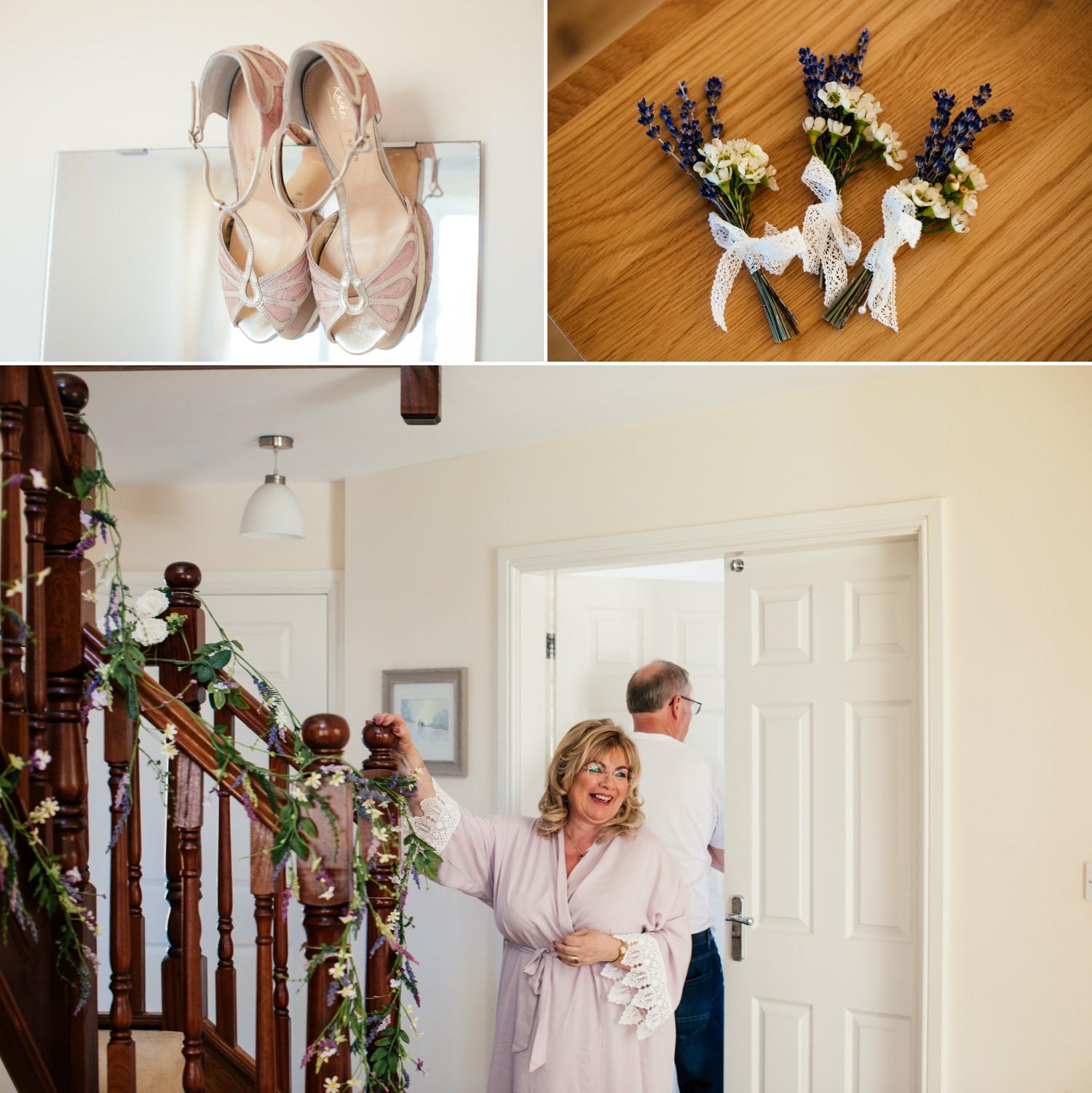 Plas Hafod Wedding details photographs