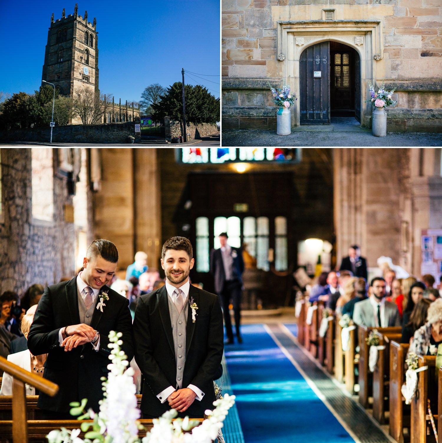 church Wedding Photograps northop