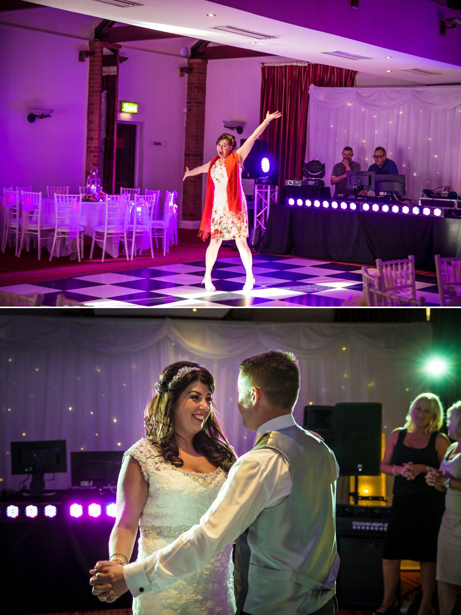 dancing Wedding Photograph at Carden Park