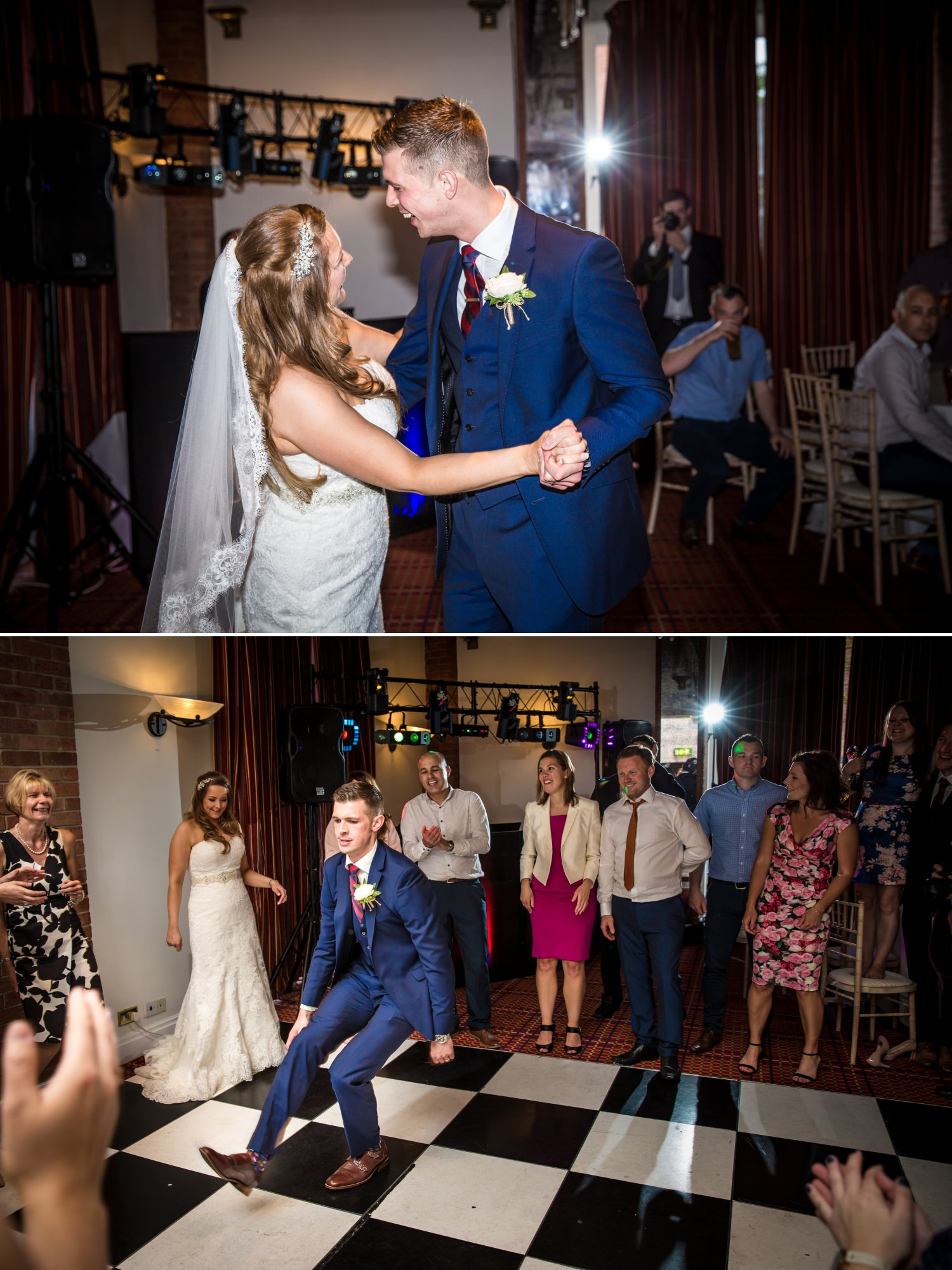 Wedding Photograph of first dance T Carden Park