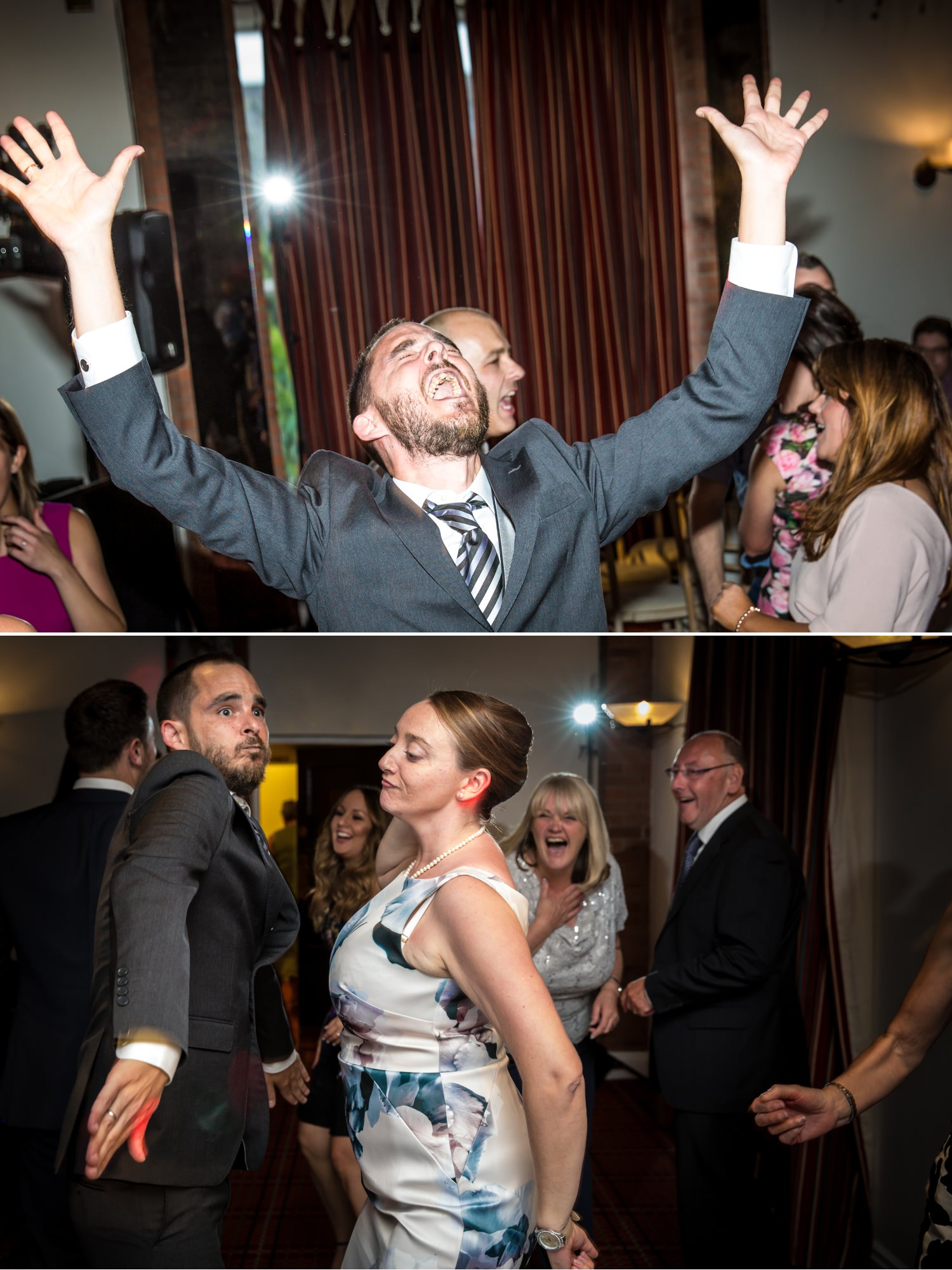 Guests Dancing Wedding Photograph at Carden Park