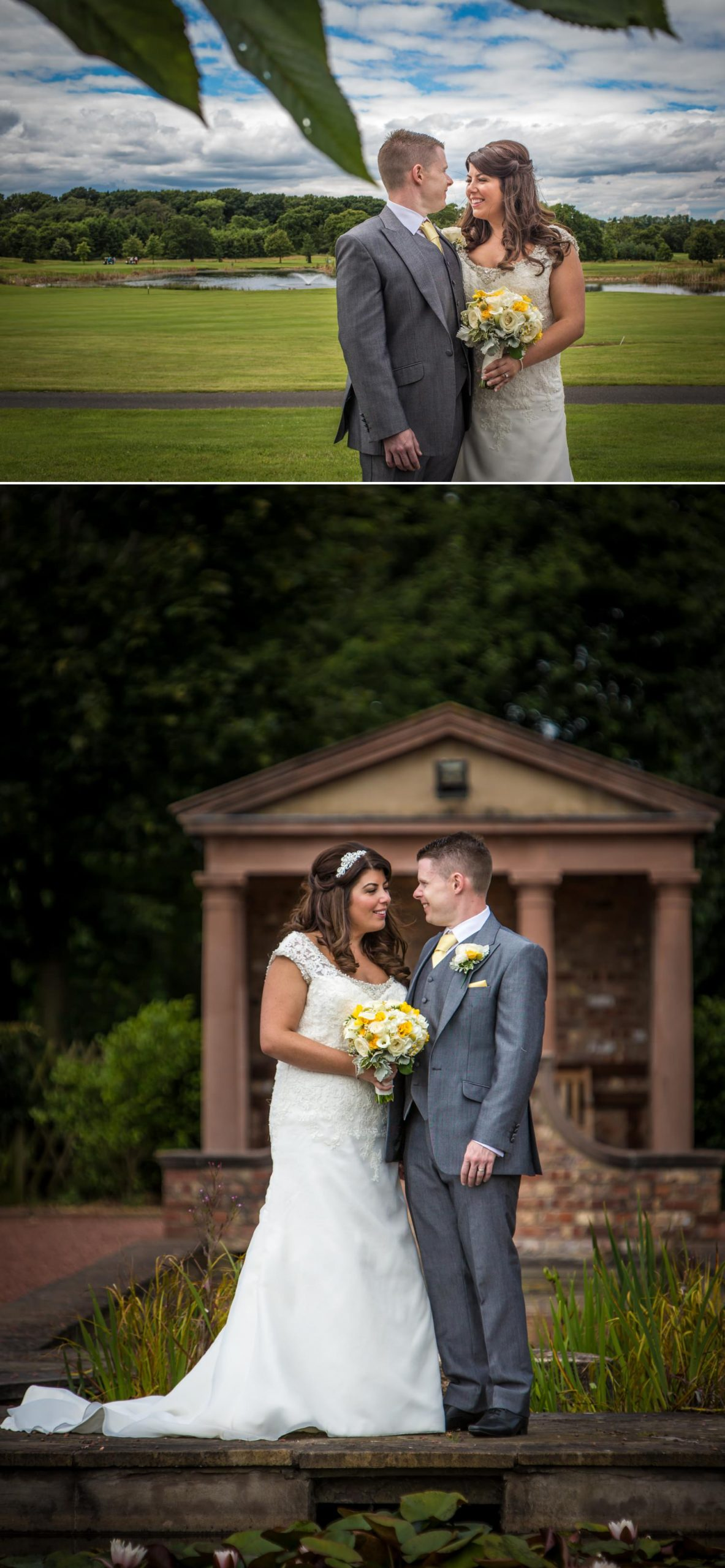 Wedding Photography portraits at Carden Park