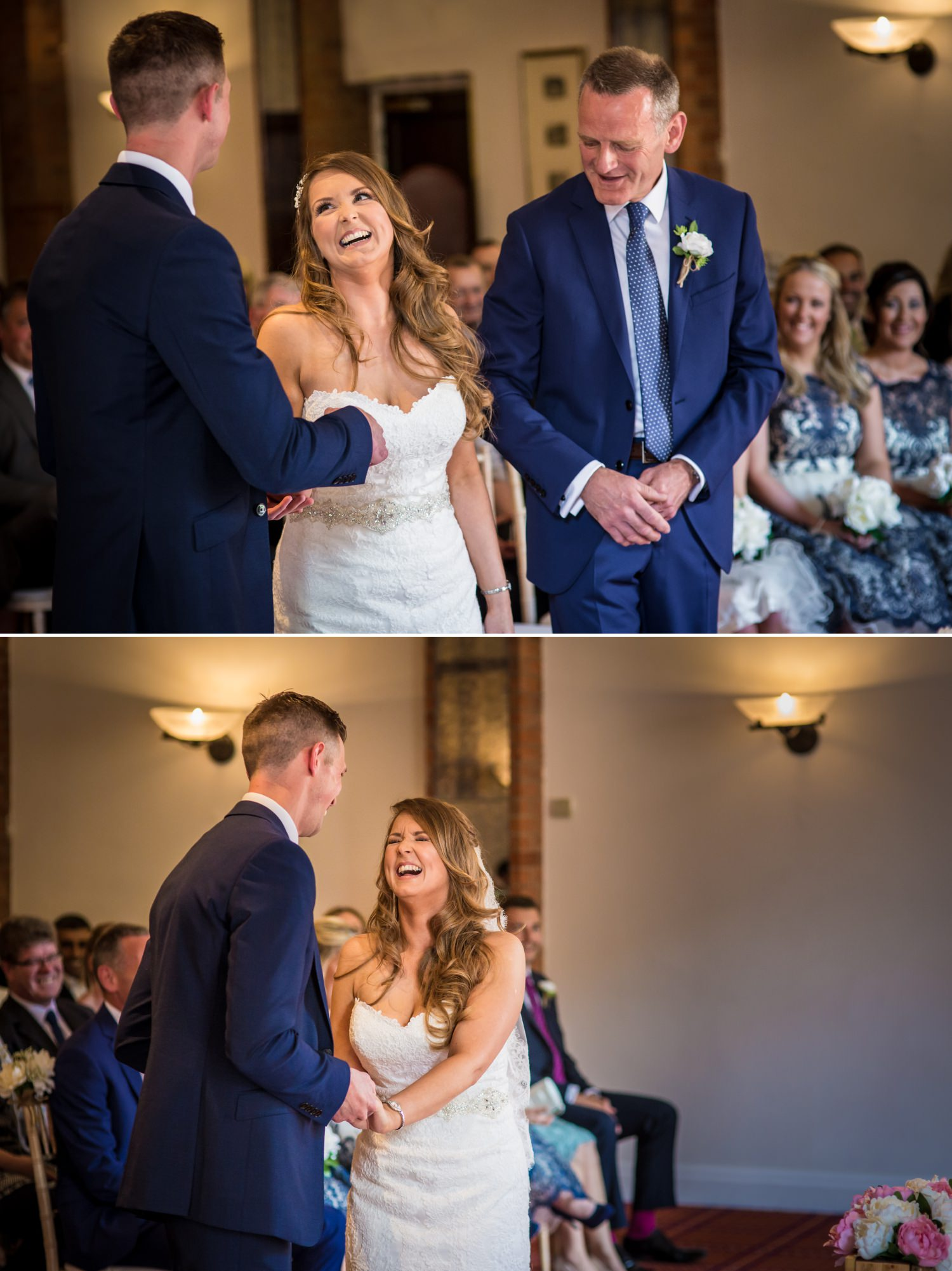 Wedding Photograph of ceremony at Carden Park