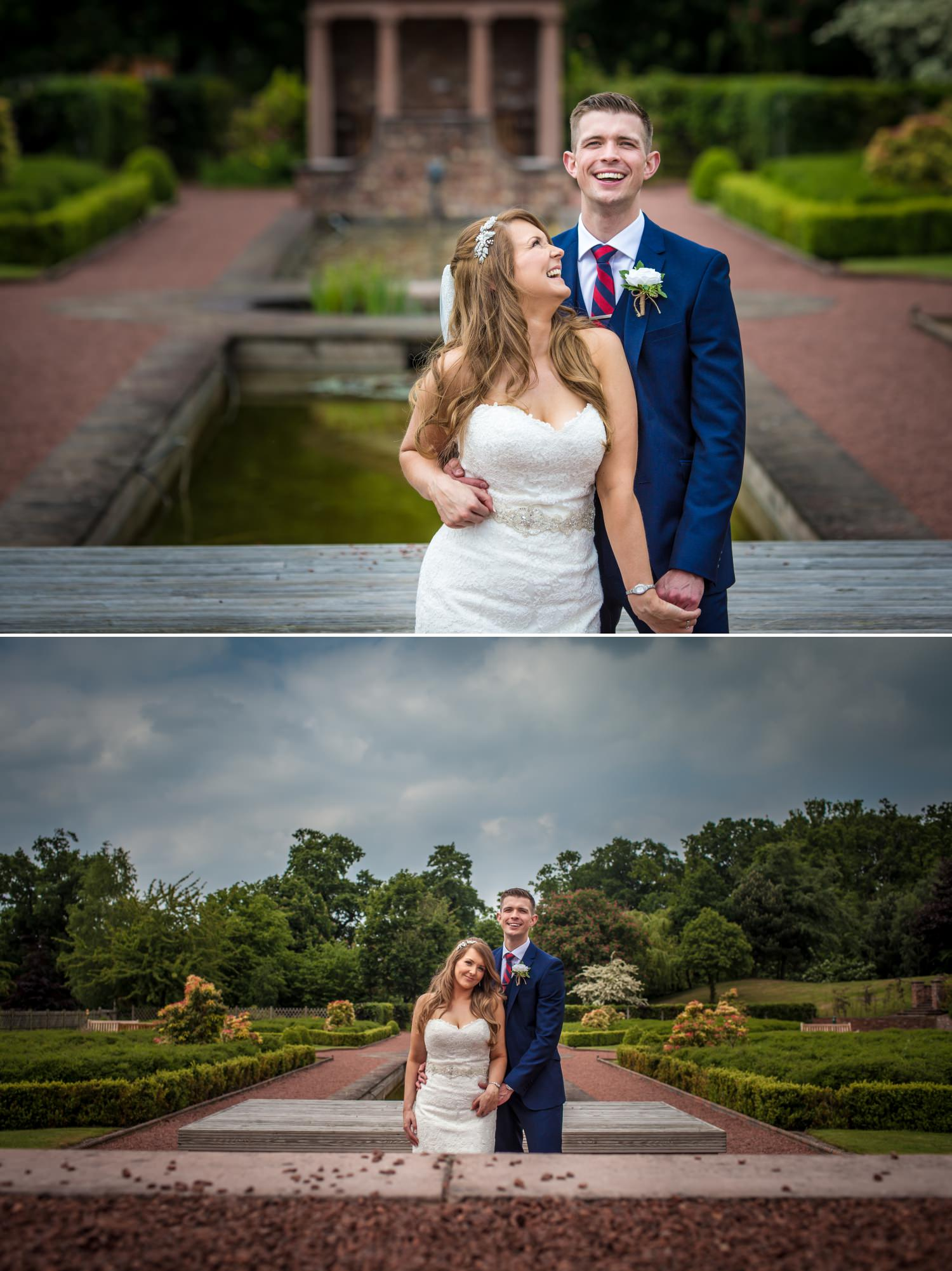 portrait Wedding Photography at Carden Park