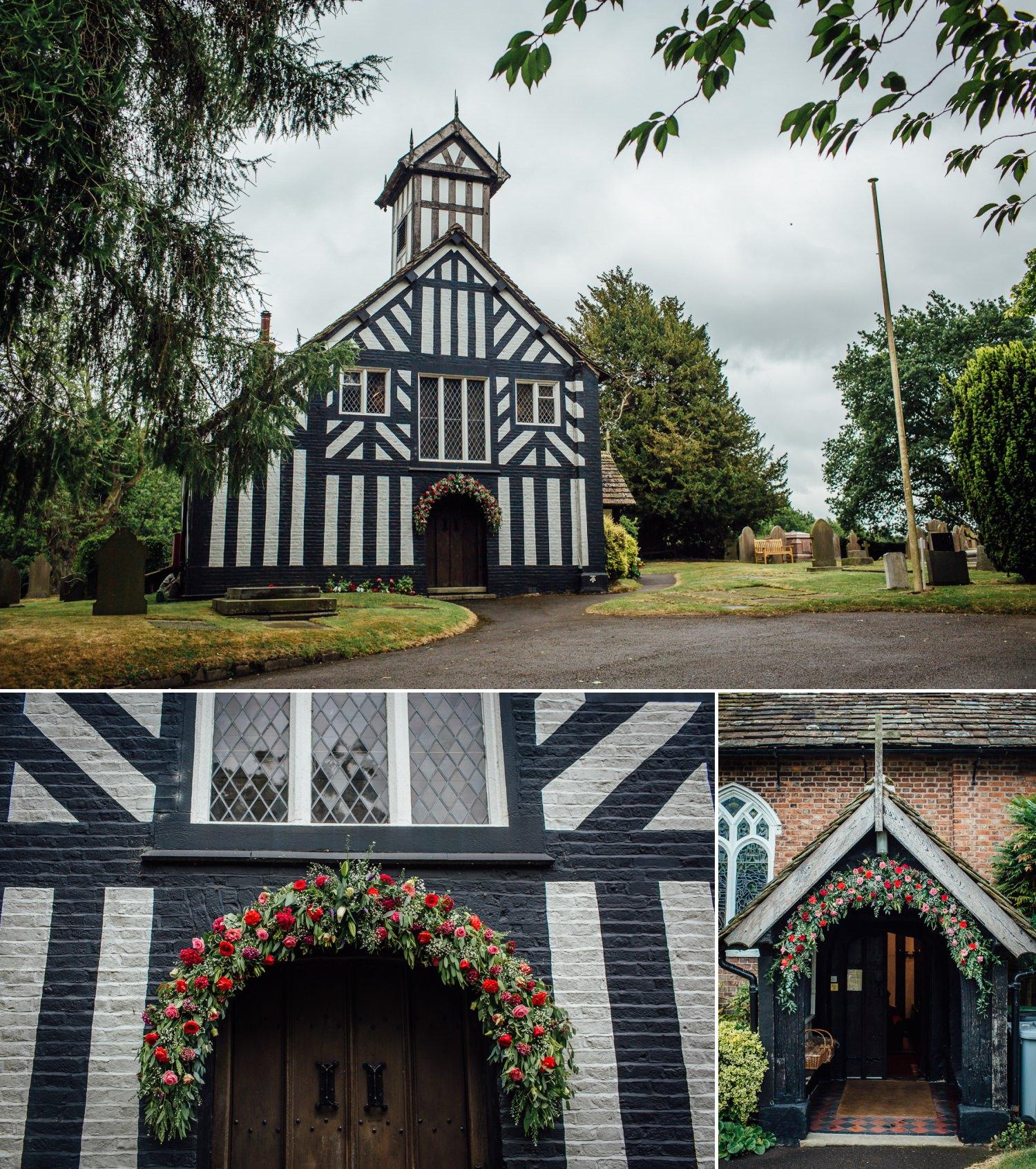 Siddington Church, Macclesfield wedding photo