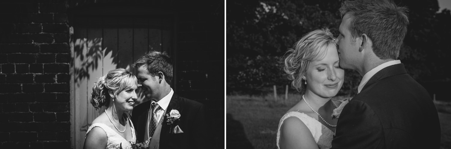 couple portraits at farm wedding in Macclesfield, Cheshire
