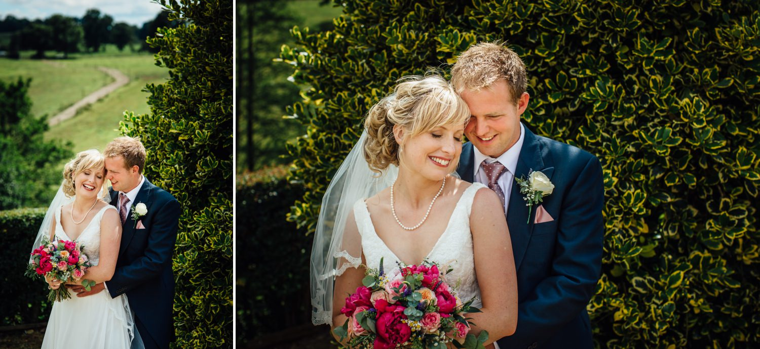 couple photography at farm wedding in Macclesfield, Cheshire