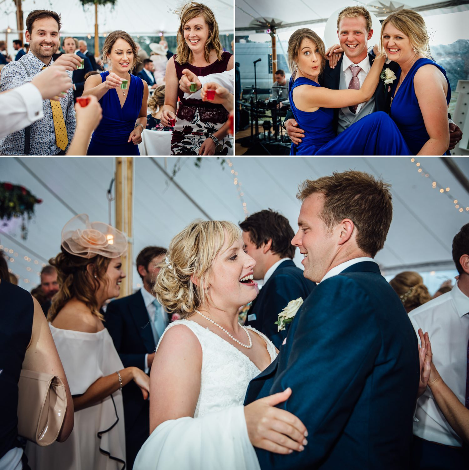 First dance photography in Marquee at farm wedding in Macclesfield, Cheshire