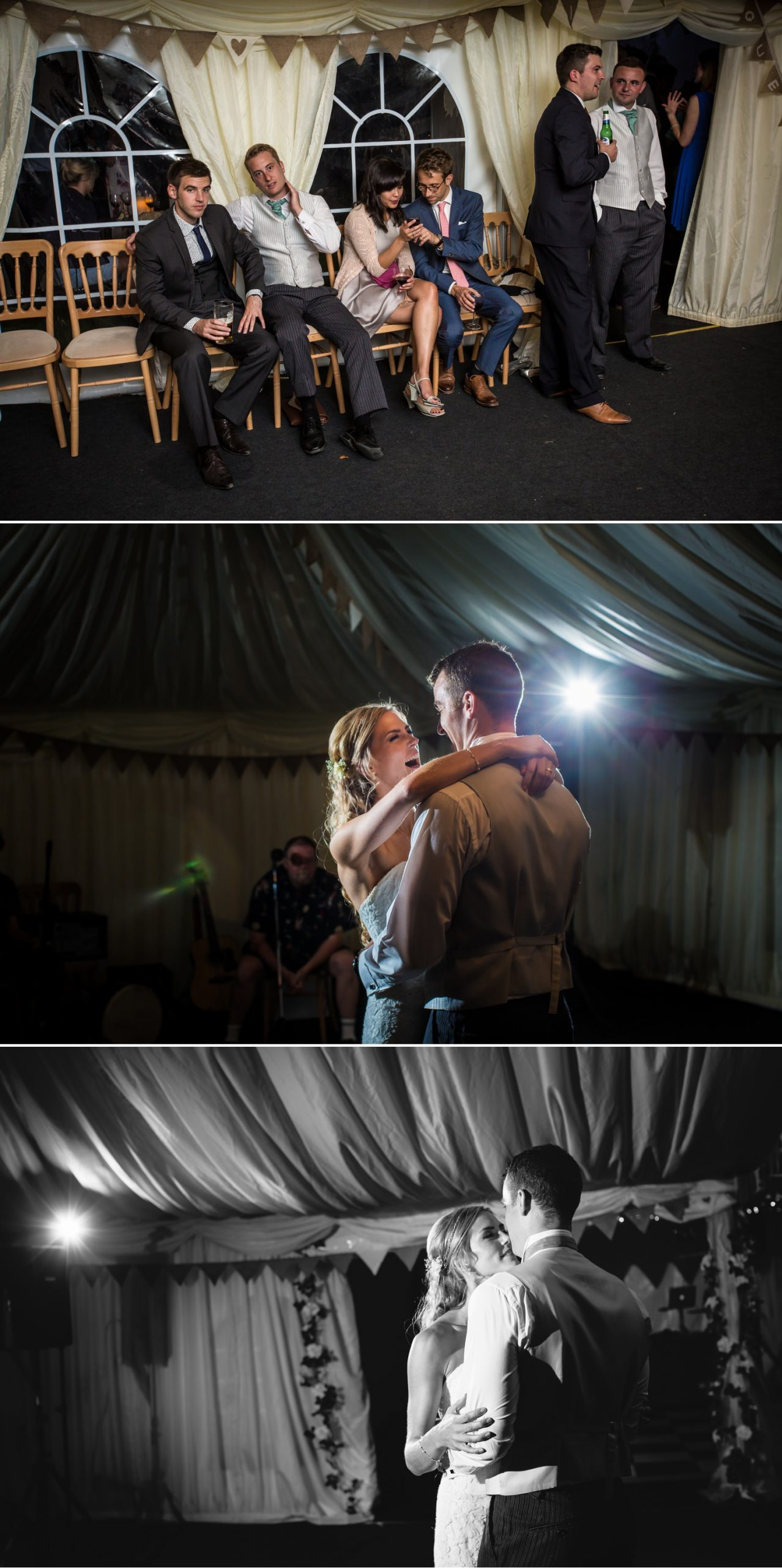 Pentre Mawr Country House Wedding Photograph of couples first wedding dance