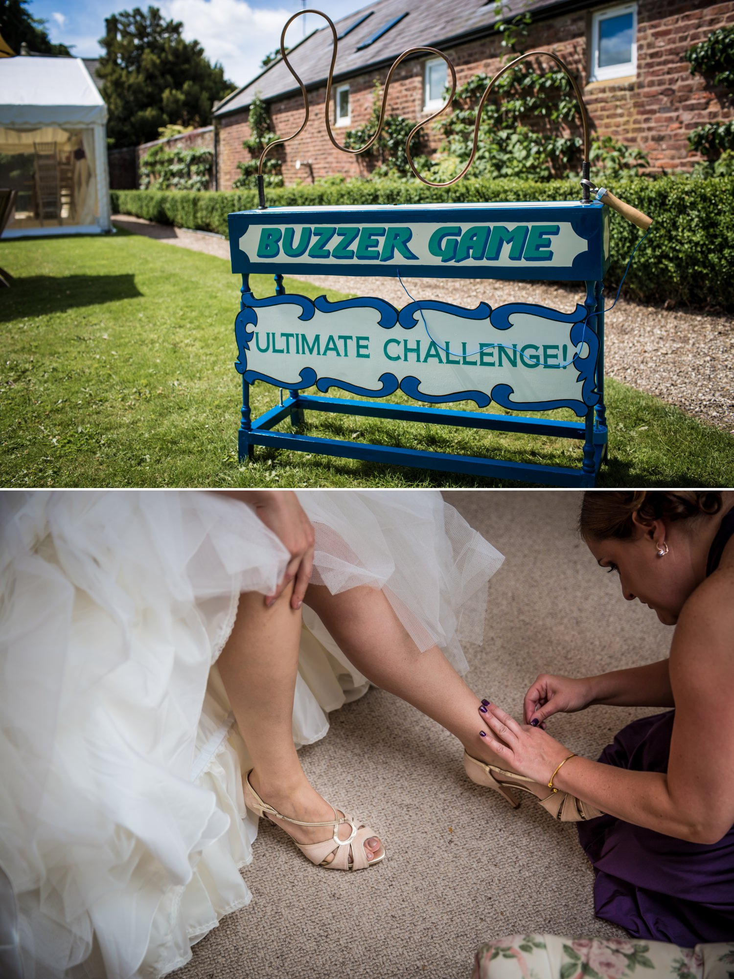 Wedding photographer at Pentrehobyn Hall puzzle games