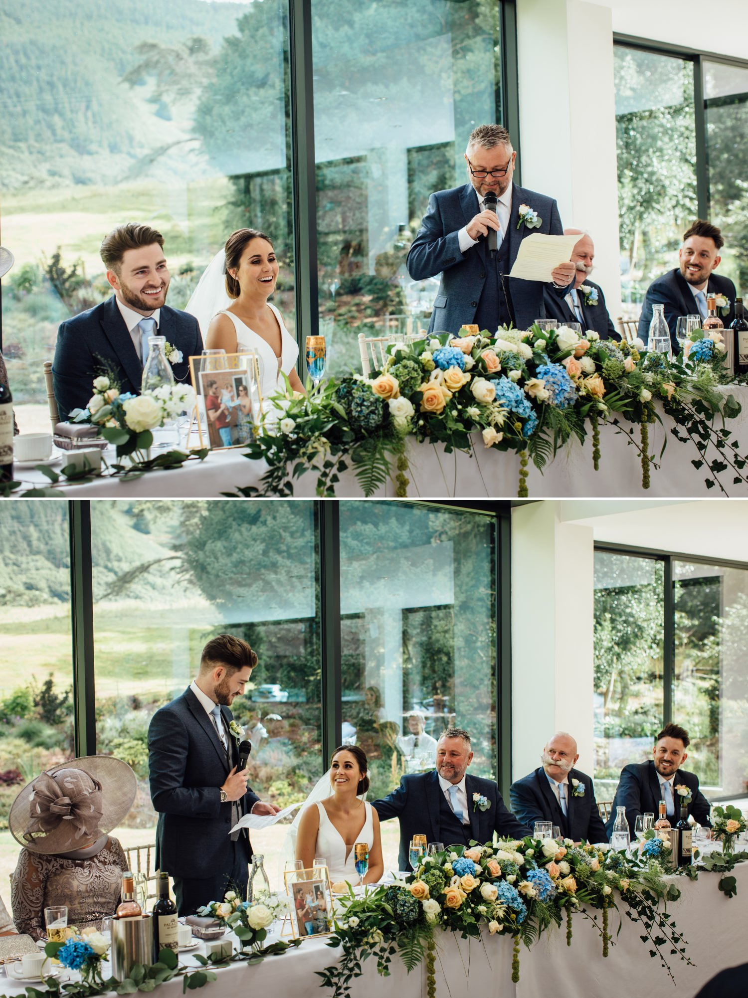wedding Speeches at Tyn Dwr Hall