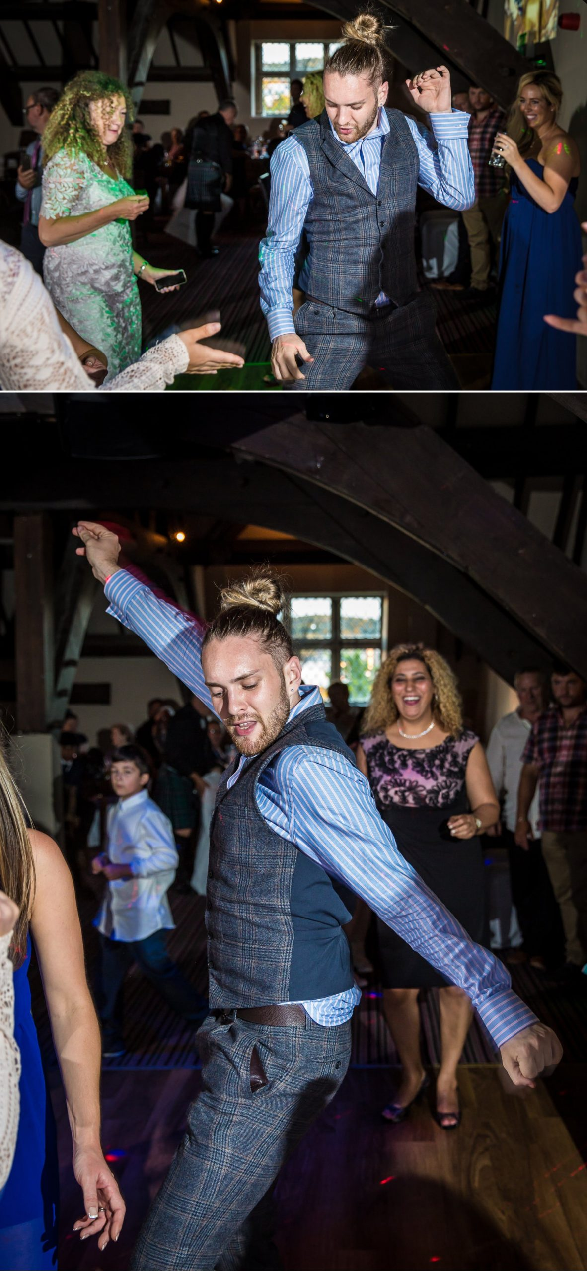 Guests dancing on Faenol Fawr photograph