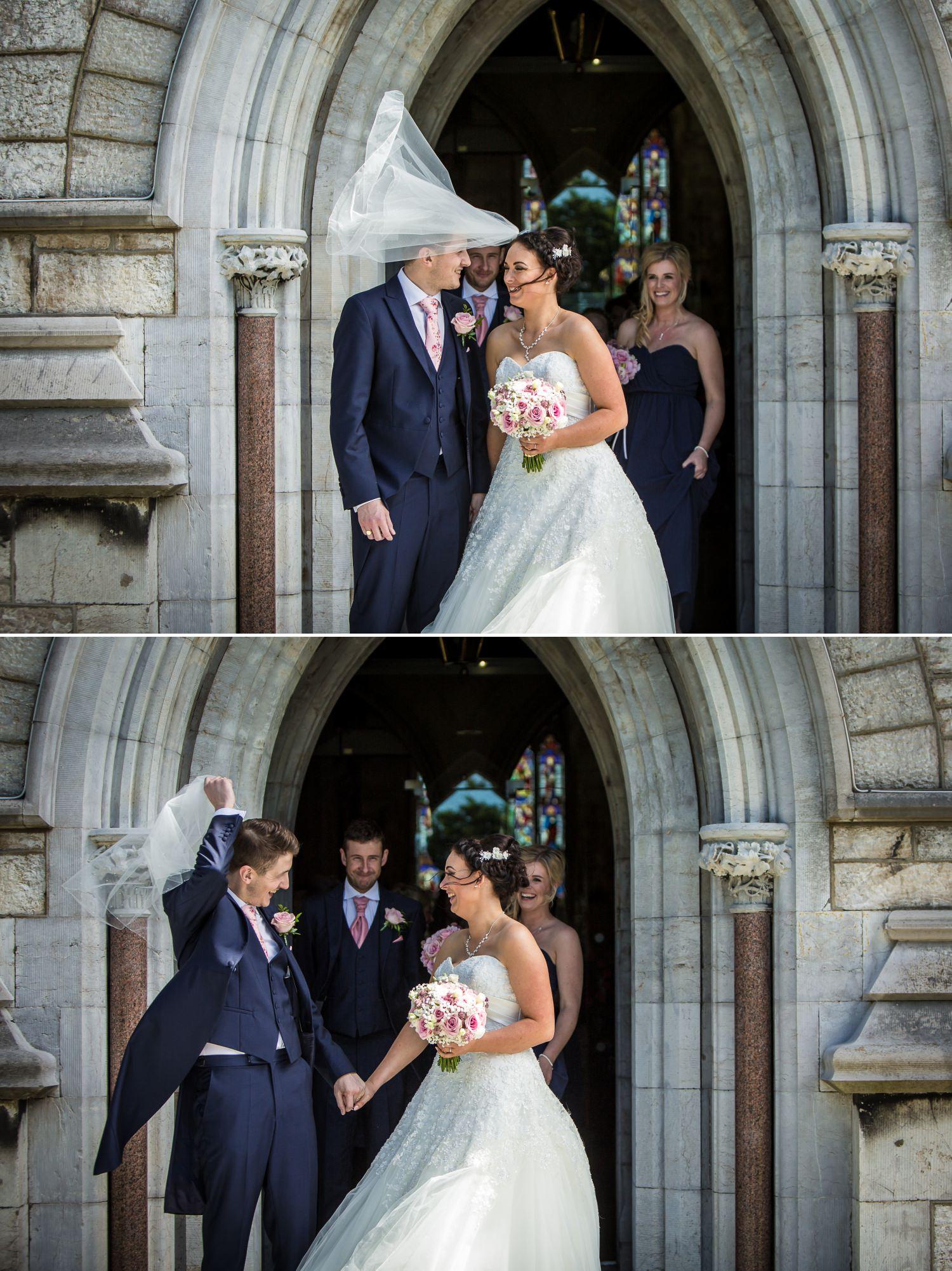 Wedding photography at Faenol Fawr