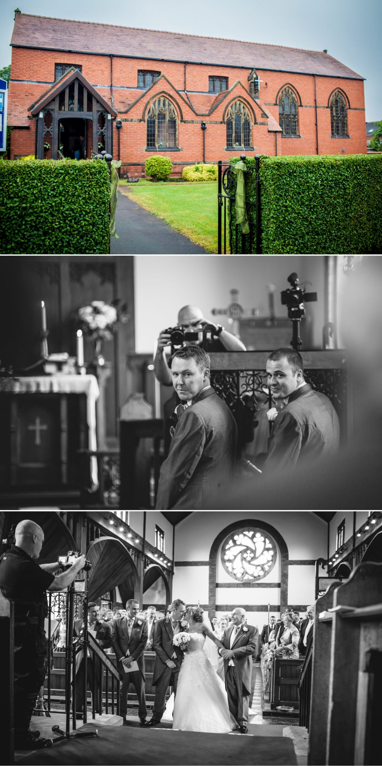 Peckforton Castle Wedding Photograph of the church in Cheshire