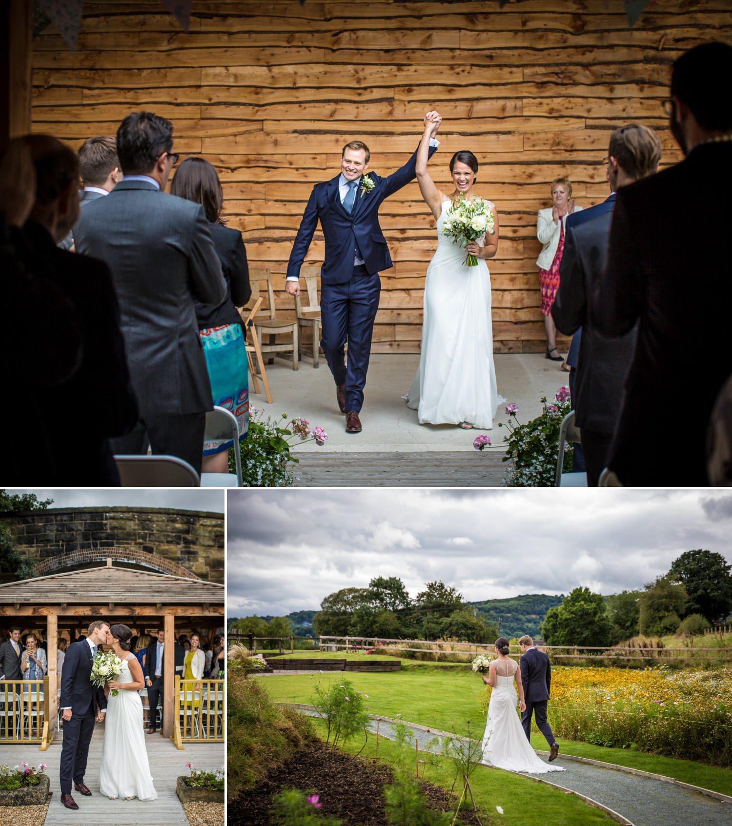 Wedding photographers Tower Hill Barns, Wrexham, North Wales