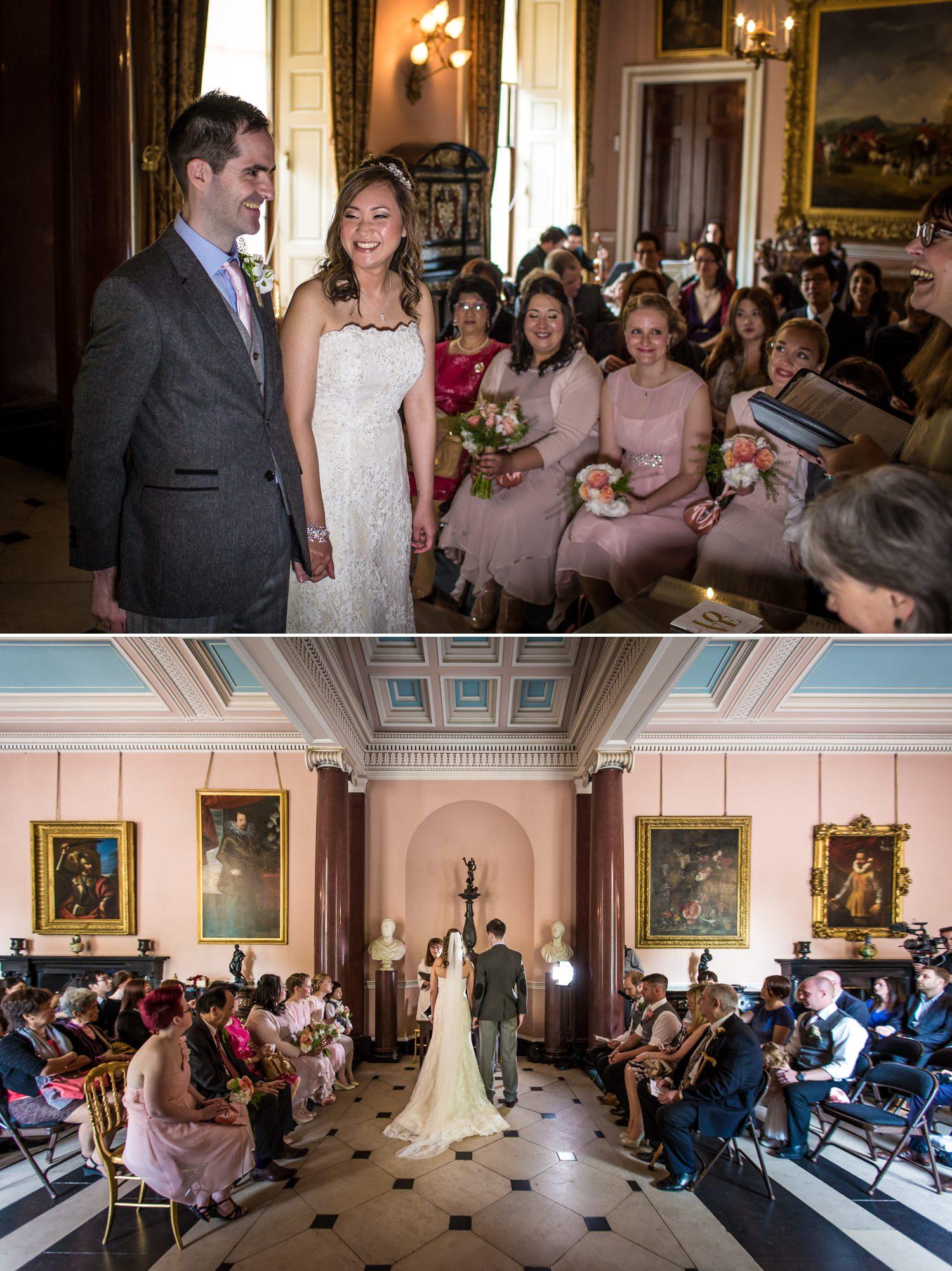 Wedding Photograph of wedding ceremony in Tatton Park