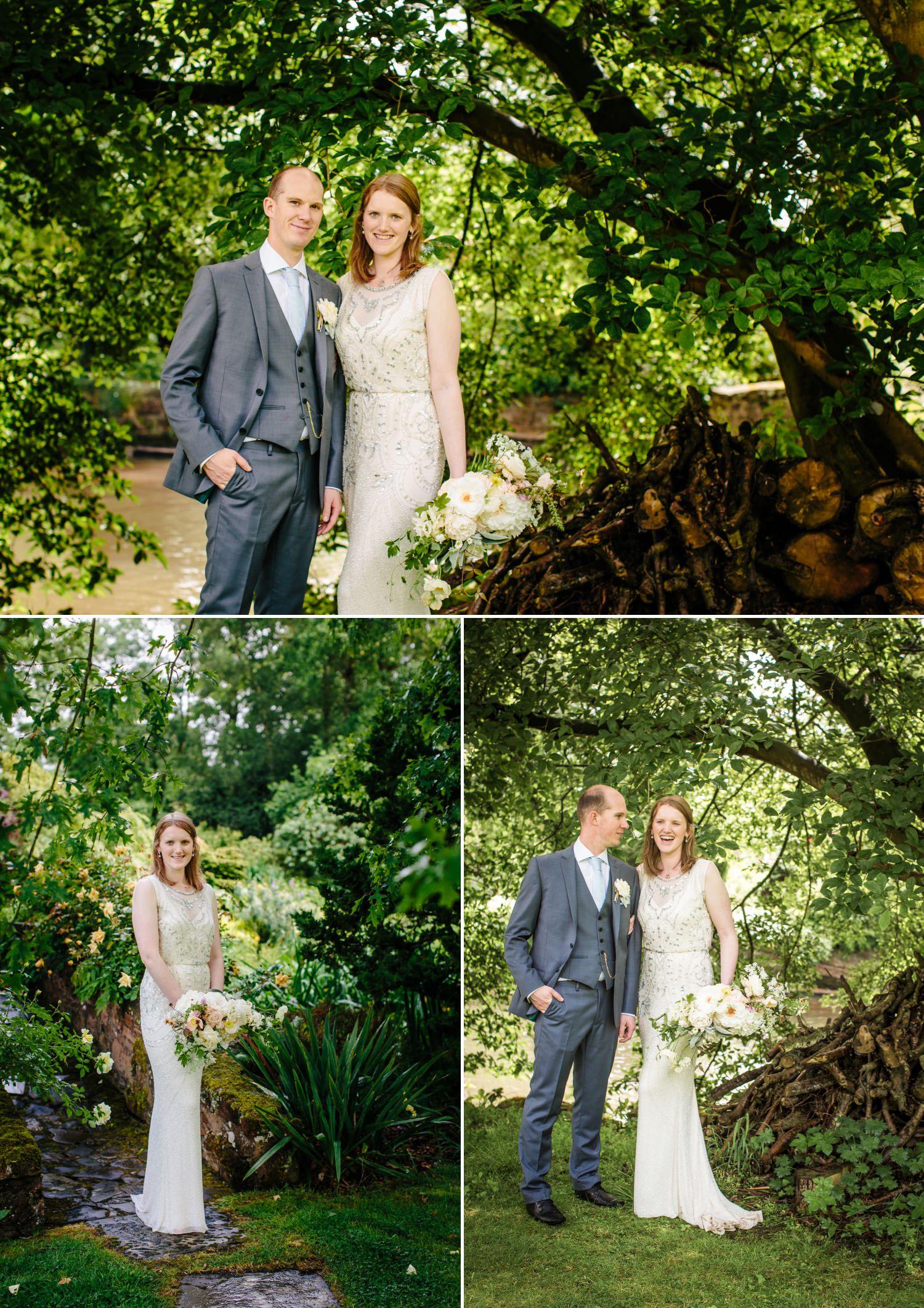 Wedding photographs at Lower Hall  Worfield