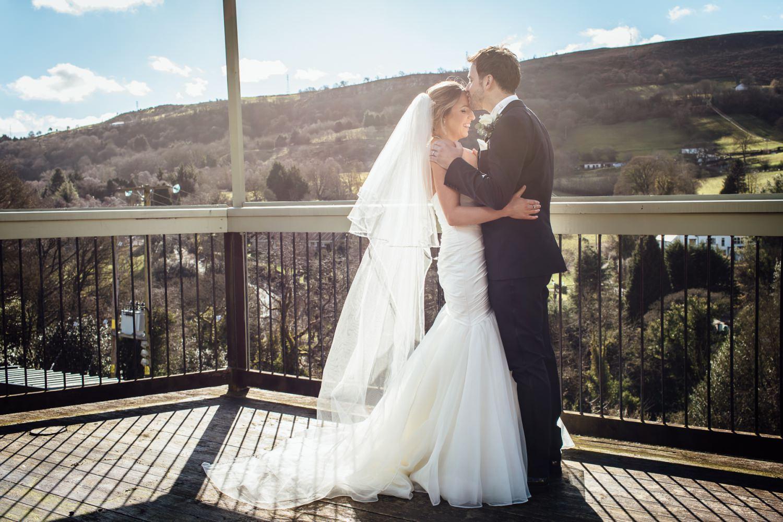Couple portrait photograph Tyn y Capel Wrexham
