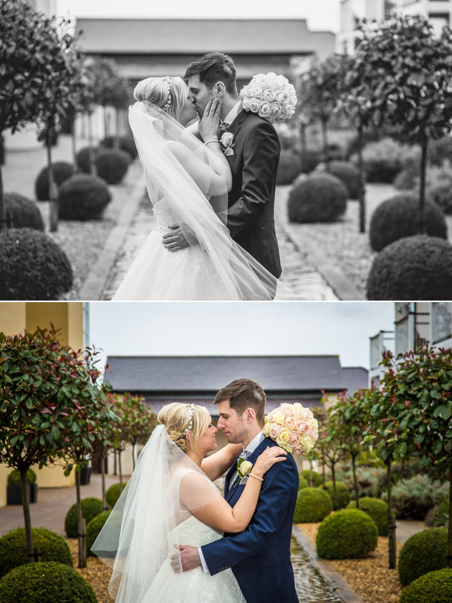Wedding photography portraits at the Quay Hotel, North Wales