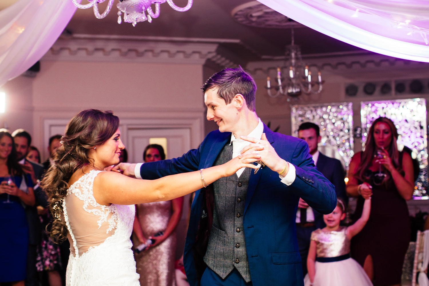 First dance at Eaves Hall