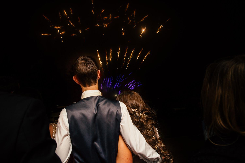 Fireworks at Eaves Hall
